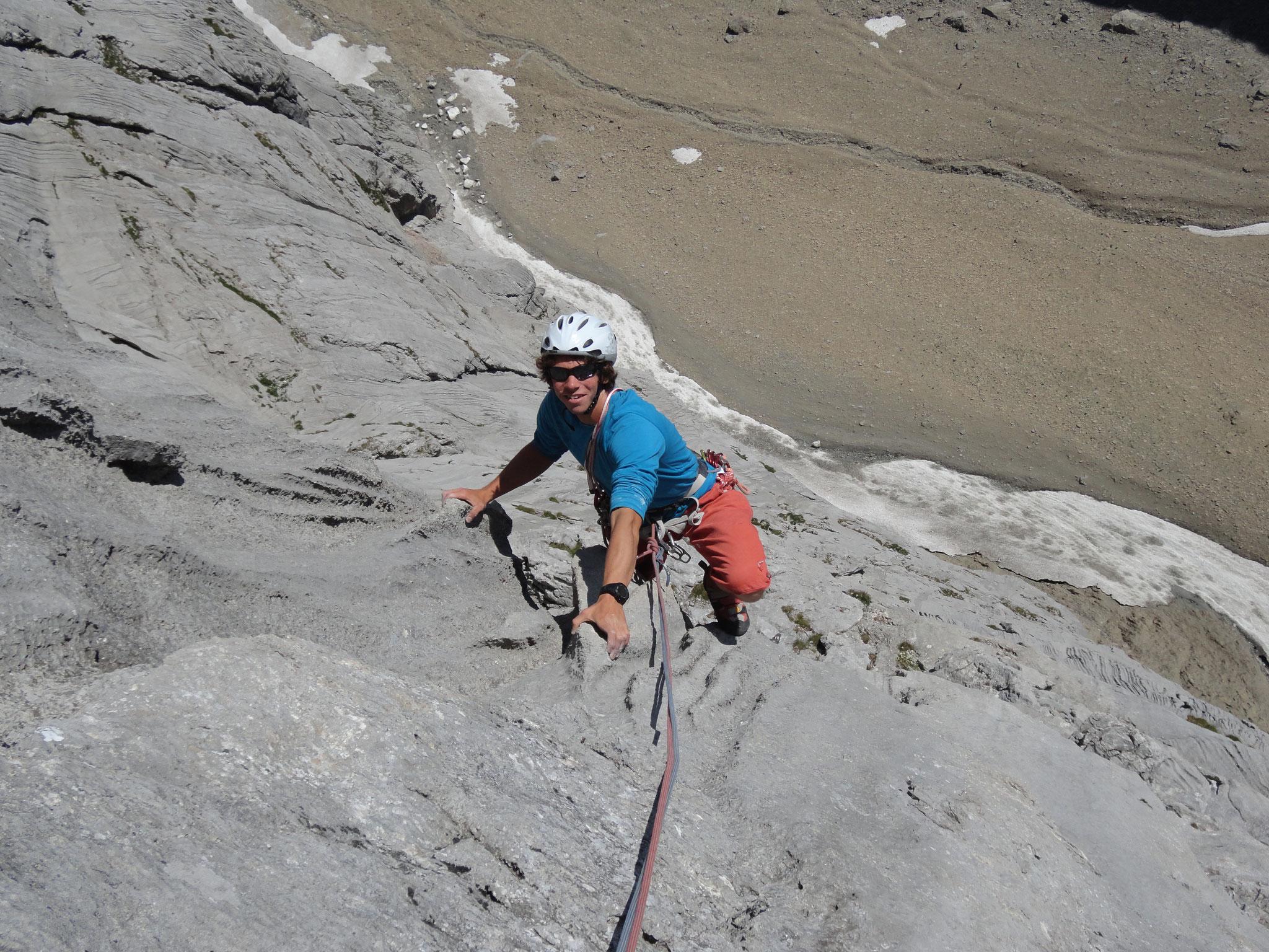 Perfekter Fels in den Lechtaler Alpen