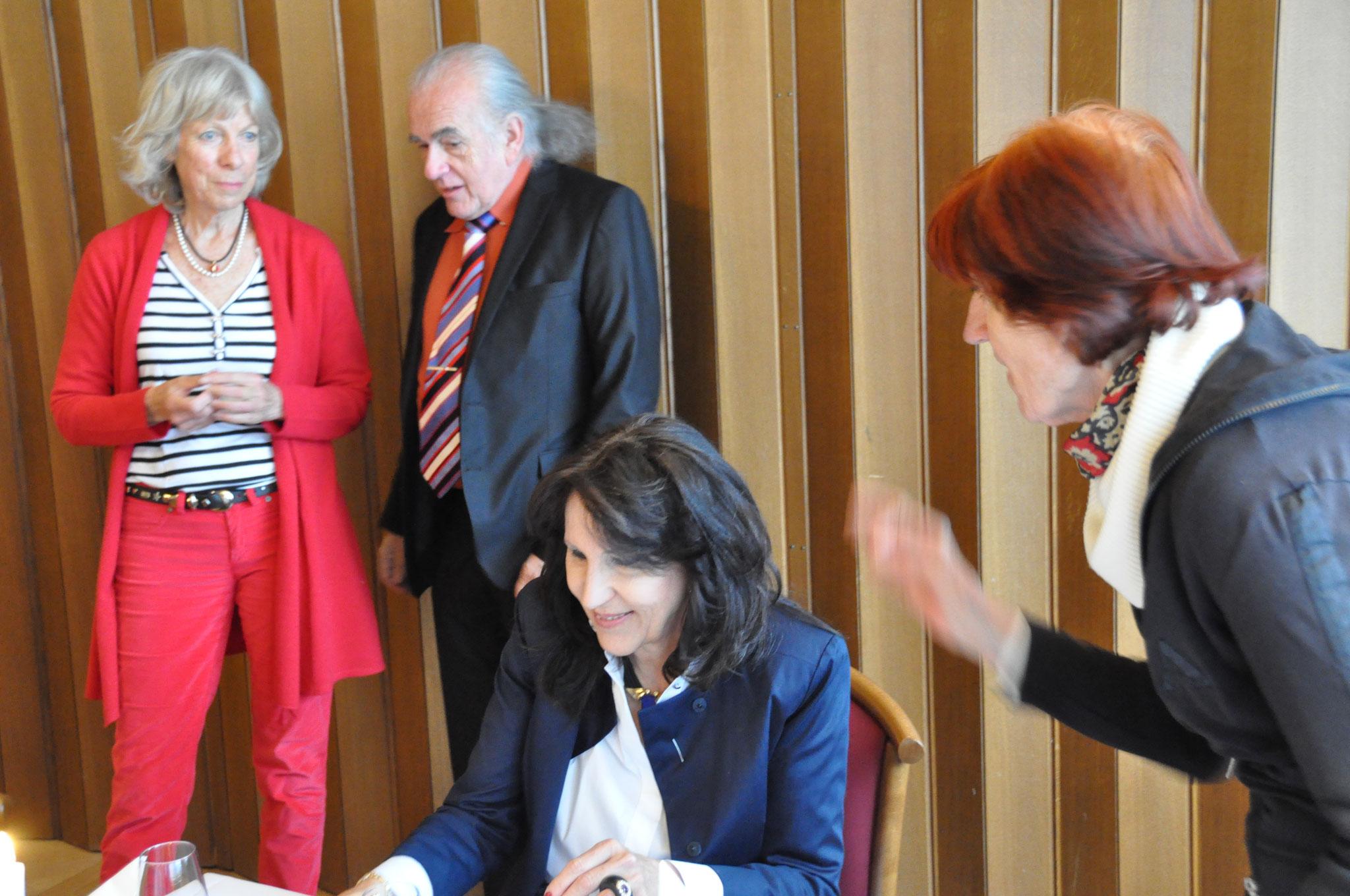 Jacqueline Hodler, Kurt Scheurer, Beatrice Ganz, Rosemarie Schneider