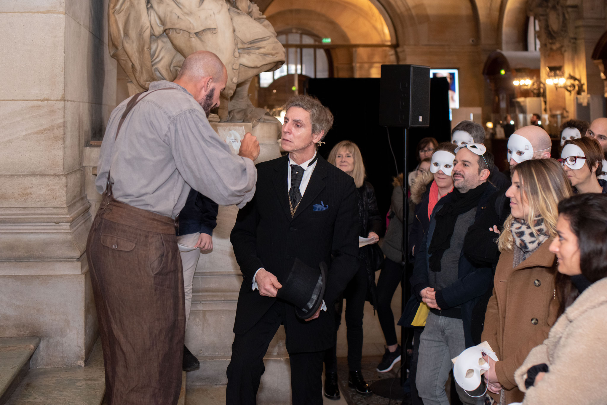 ©Laurent Danquigny / Escape game à l'Opéra Garnier