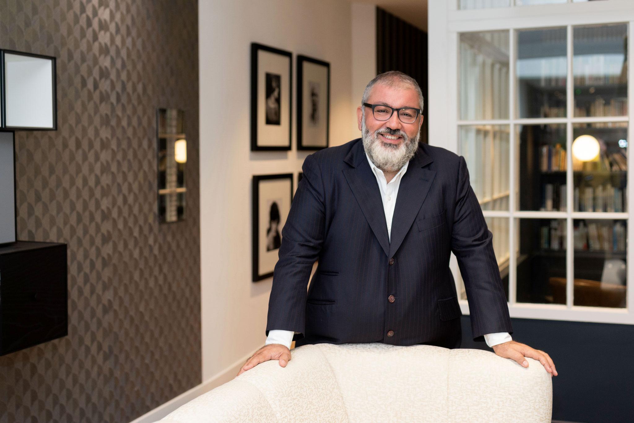 ©Laurent Danquigny pour Forbes  / Laurent Boughaba du PDG du groupe Steva