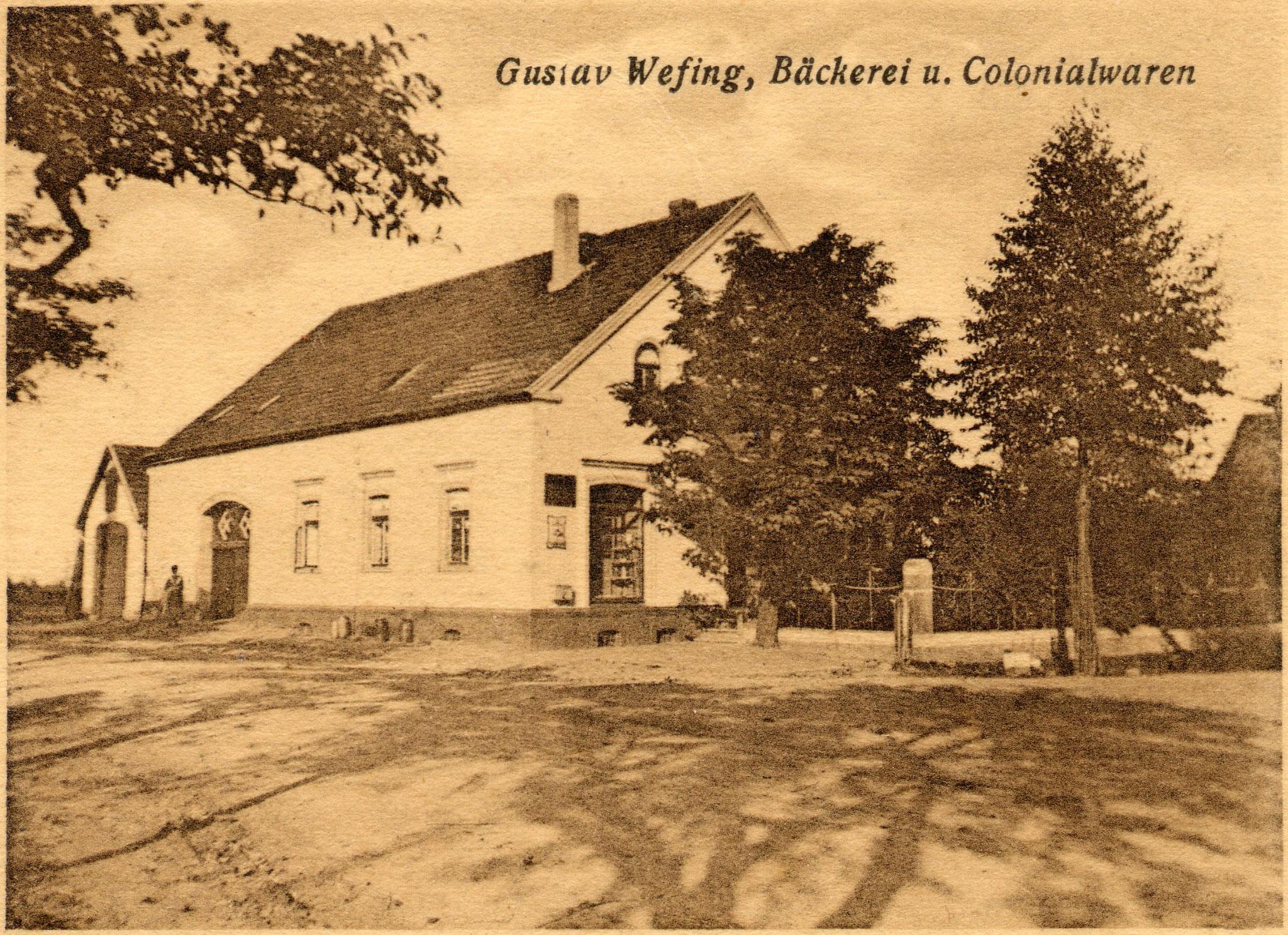 Geschäftshaus Wefing 1910