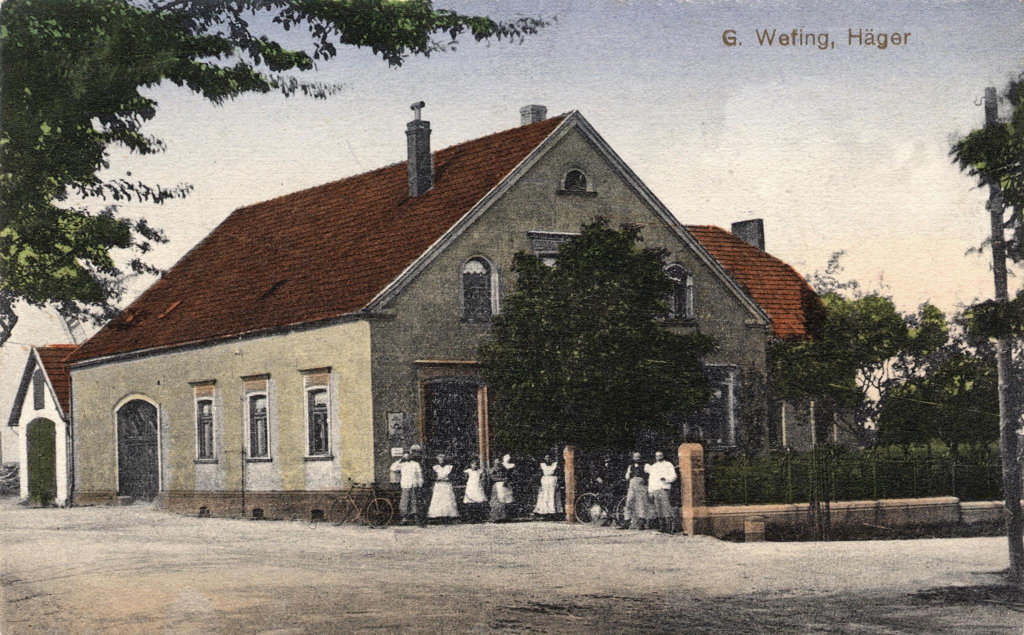 Geschäftshaus Wefing 1900