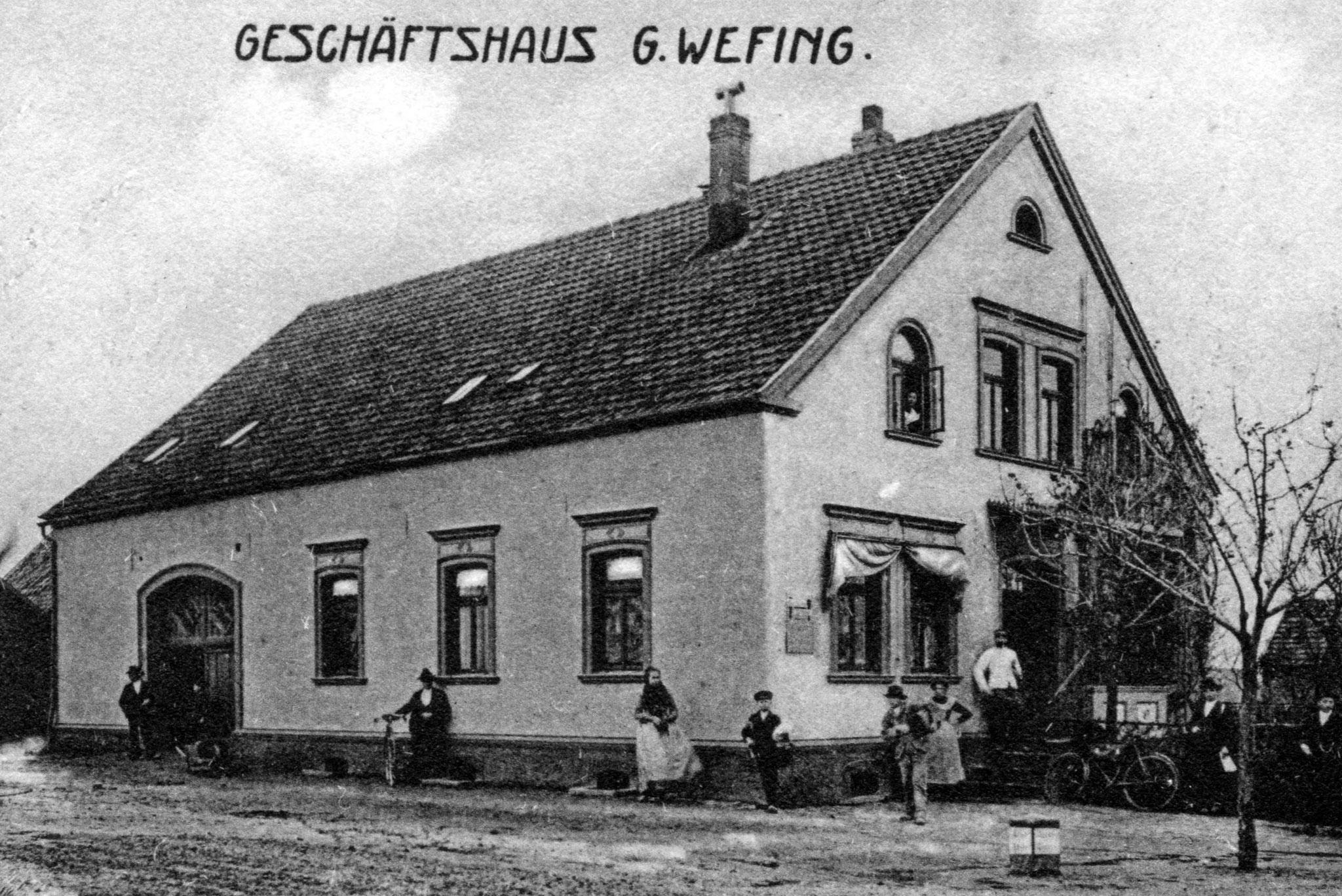 Geschäftshaus Wefing 1880