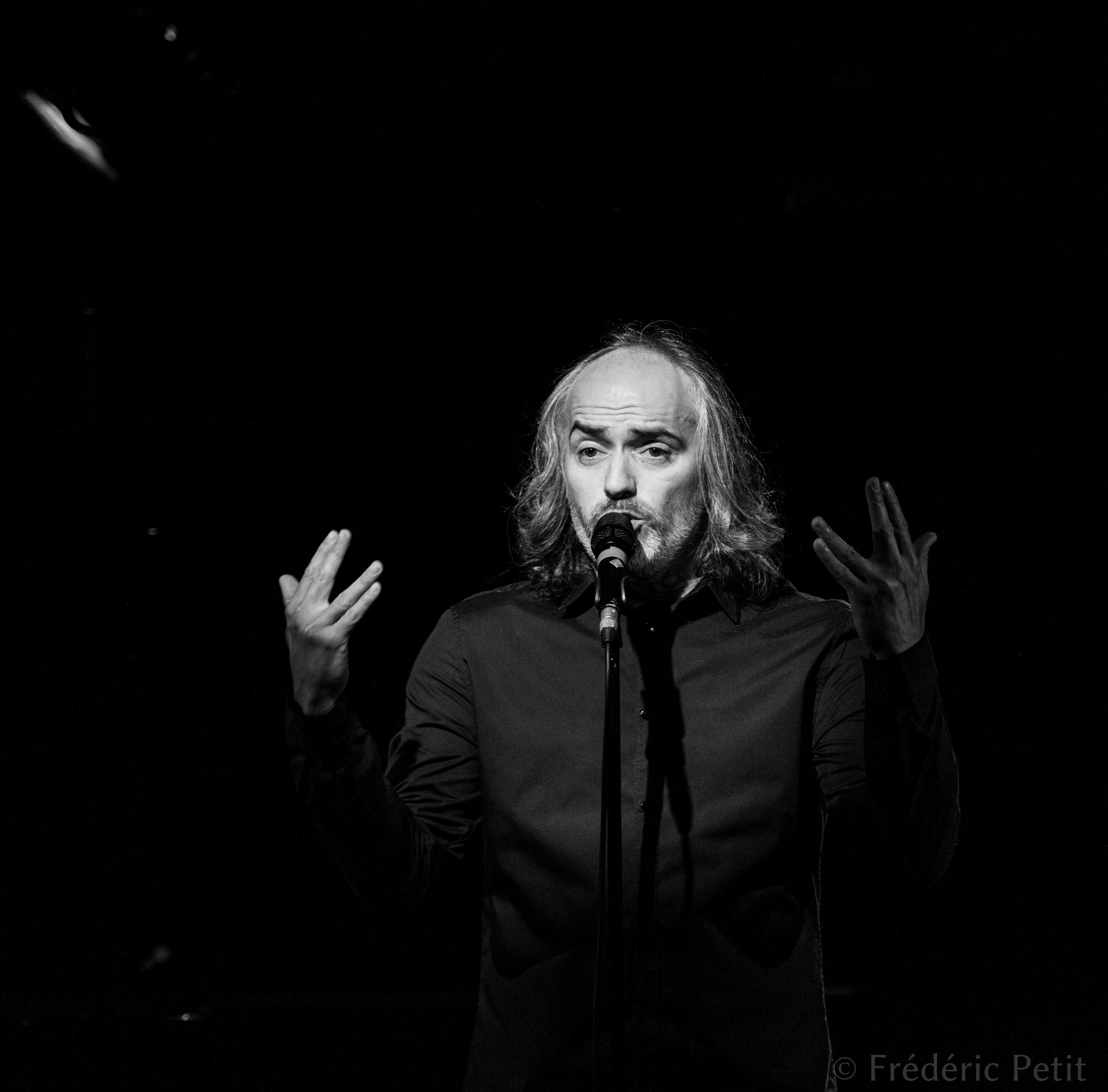 3 novembre 2016 - Patrice Mercier @ Forum Léo Ferré