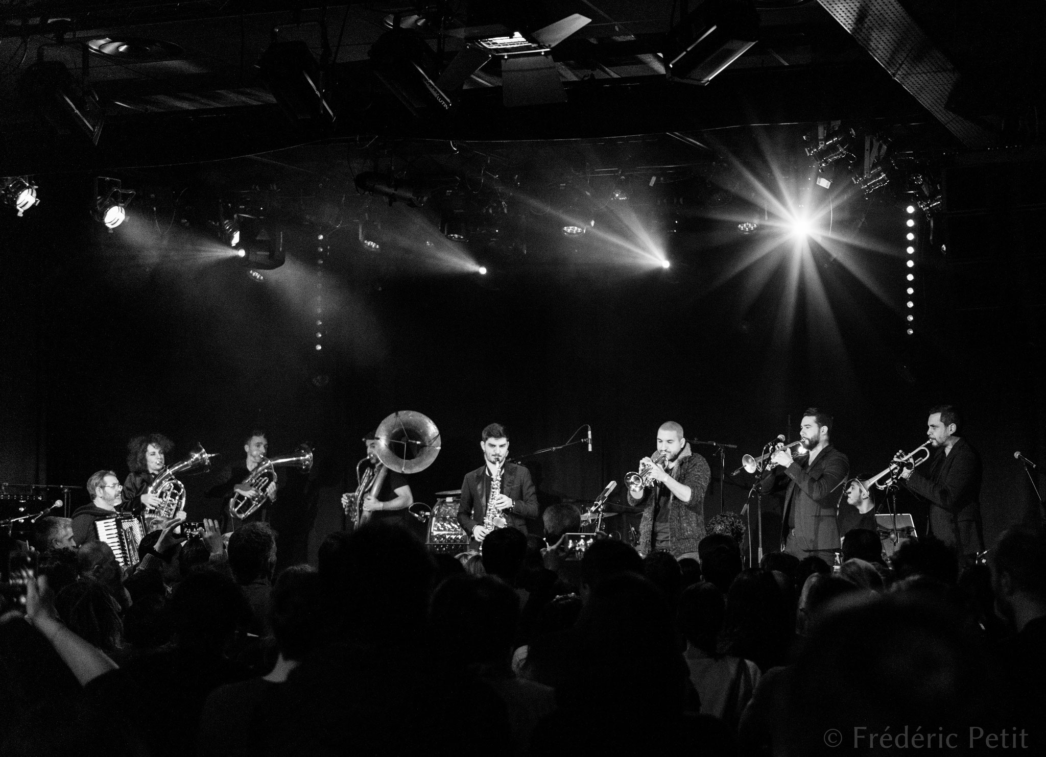 14 décembre 2018 - Ibrahim Maalouf & le Haïdouti Orkestar @ Pan Piper