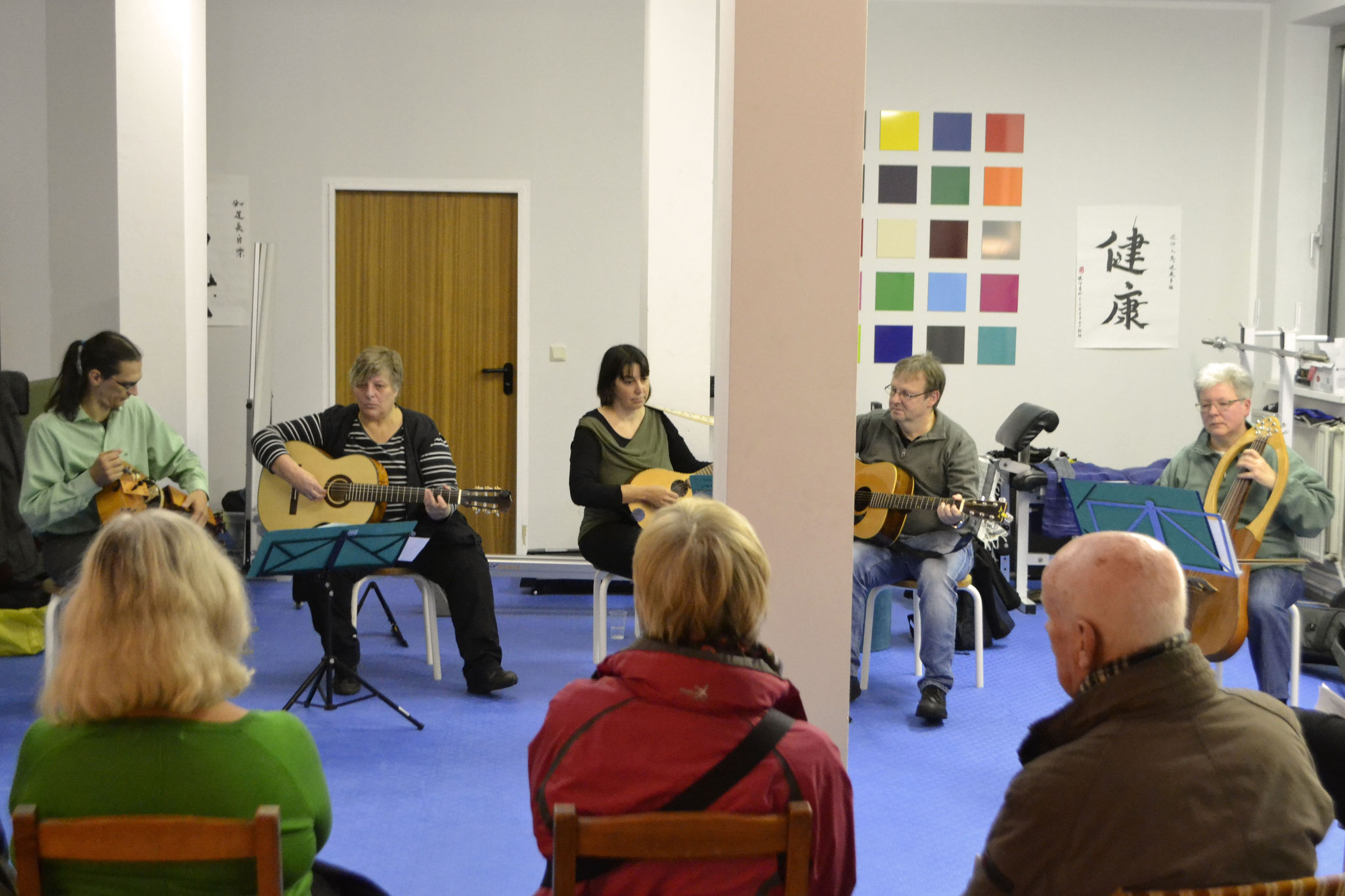 FreitagsMusiker im TAO Gesundheitszentrum, Foto: Florina Limberg