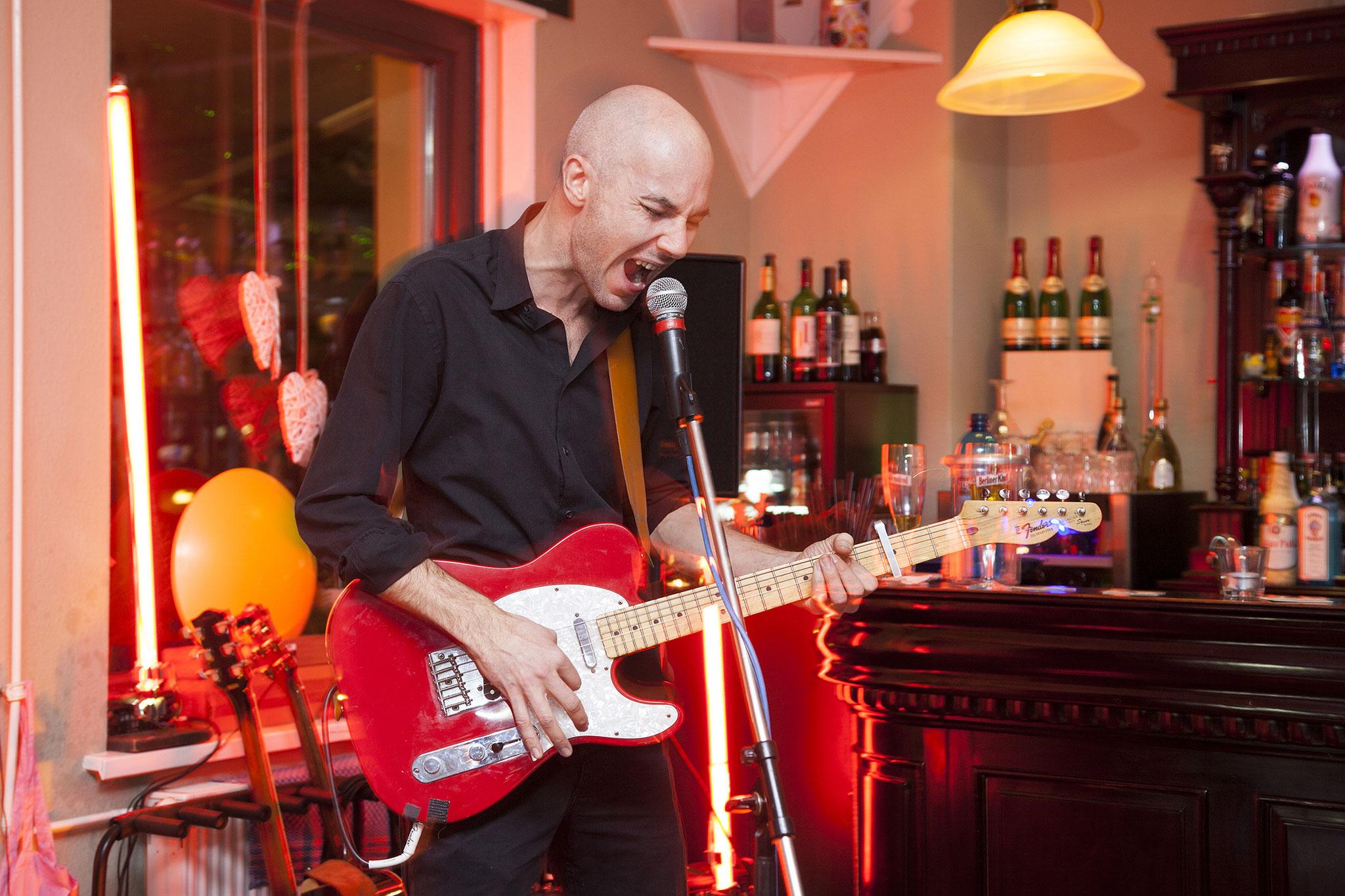 Matthias Kahler im Restaurant rein-Icke, Foto: Antonia Richter