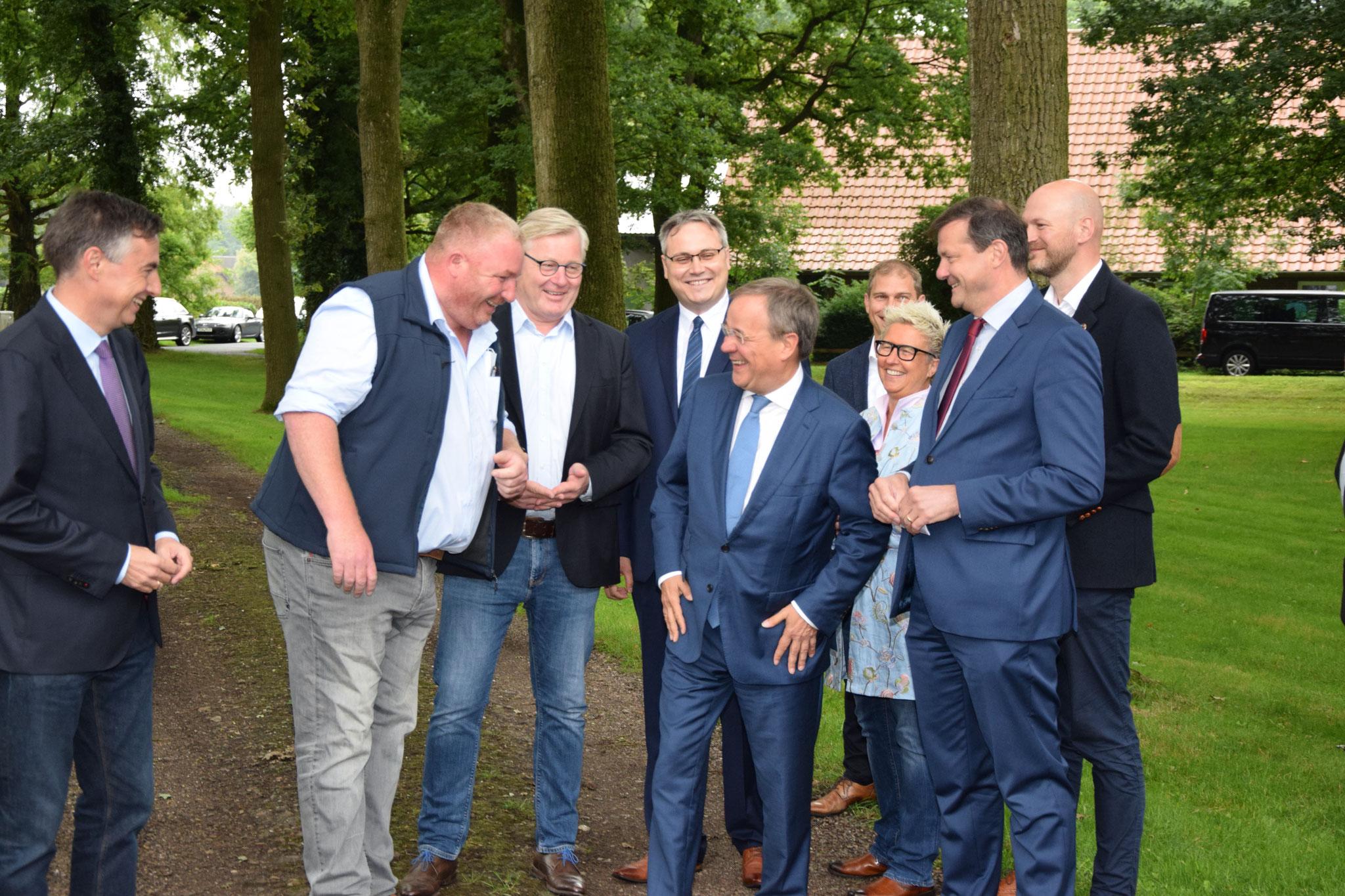 Kanzlerkandidat Laschet in Bockel