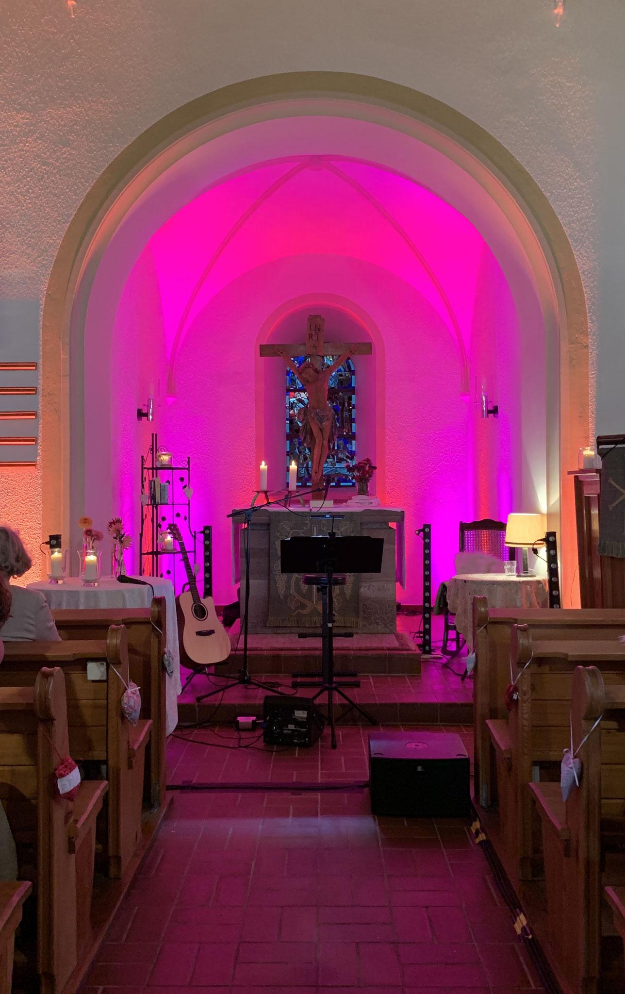 Wohnzimmer-Kirchen-Konzert in Martinsmoos am 19.September 2019