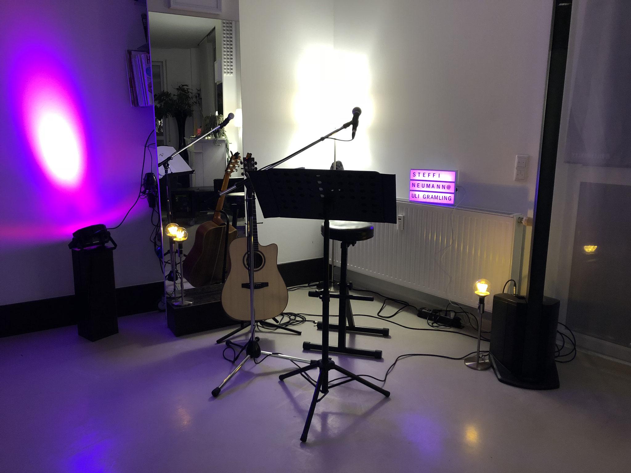 Konzert im Frisörsalon #UliGramling in Mundelsheim