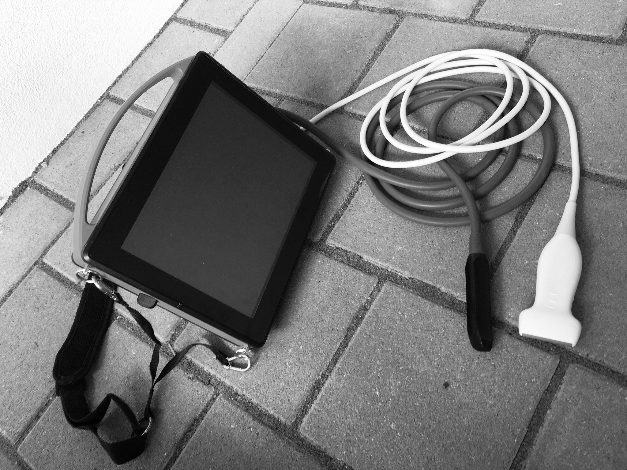 Mobiles Ultraschallgerät für Orthopädie und Gynäkologie