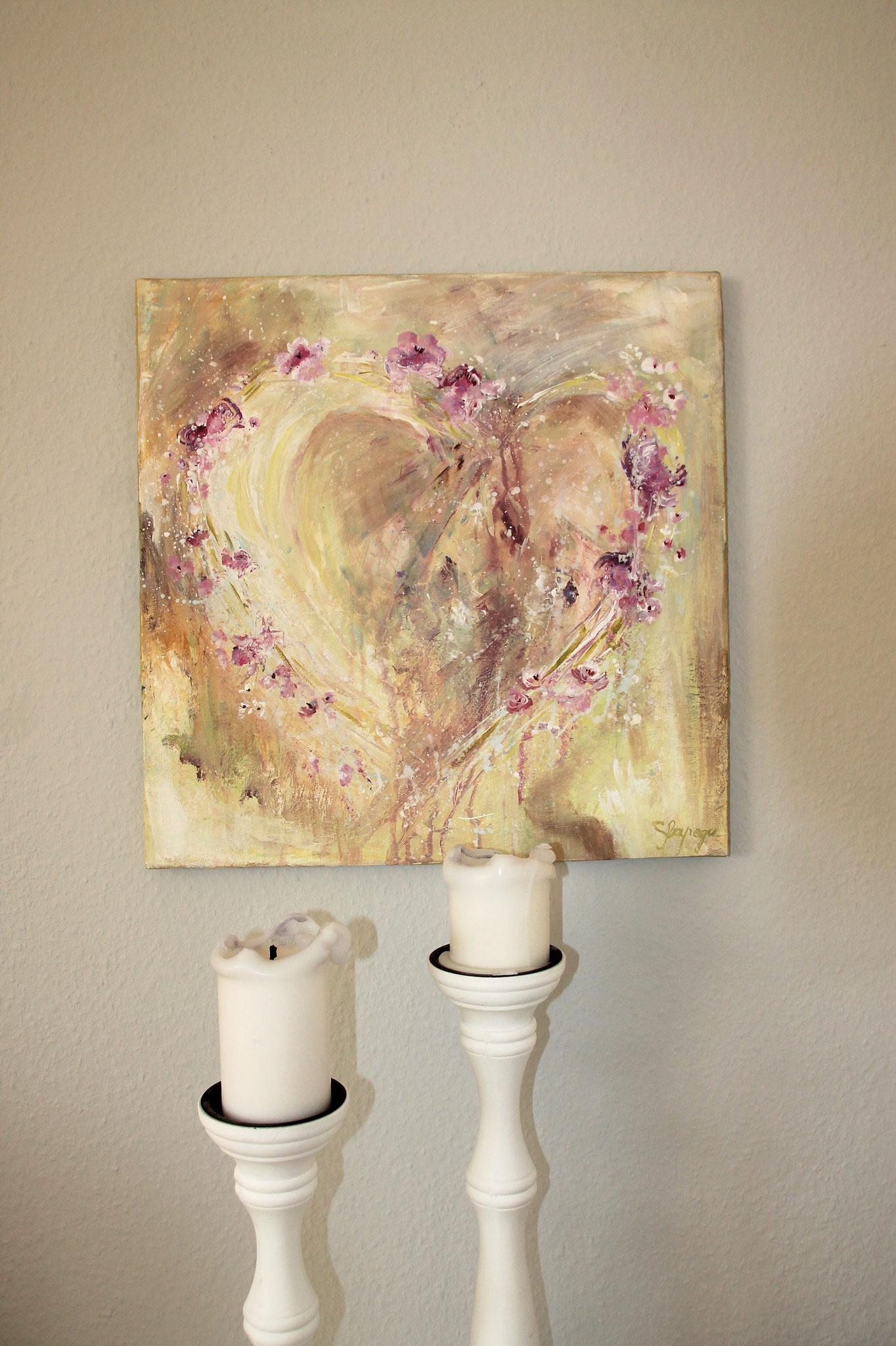 40x 40 cm Acryl auf Leinwand