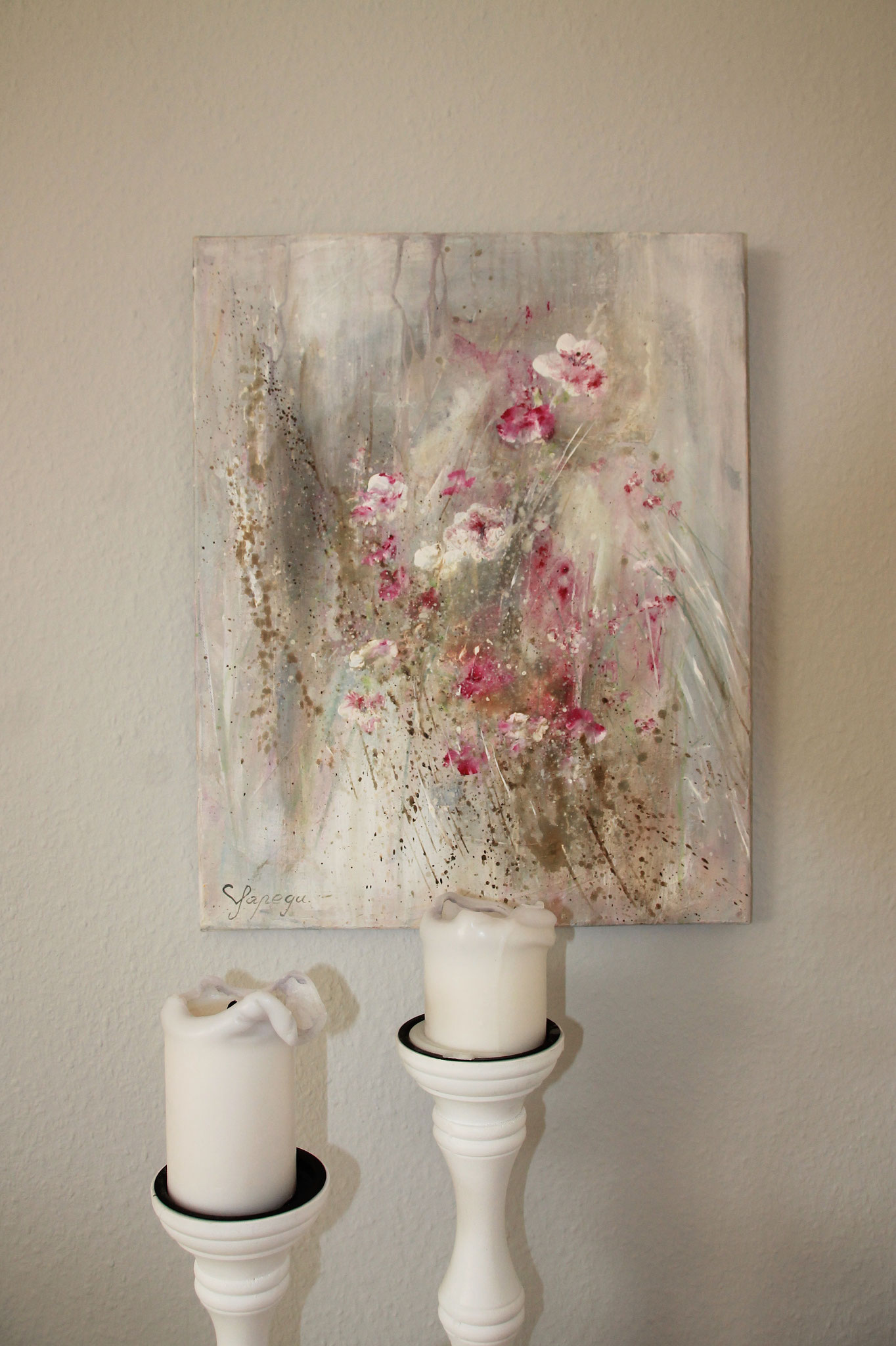 40  x 50 cm Acryl auf Leinwand