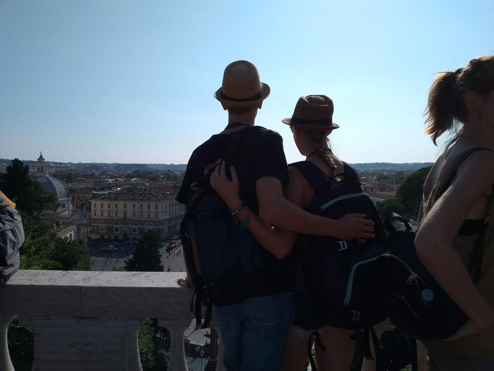 Aventin - Blick auf Rom