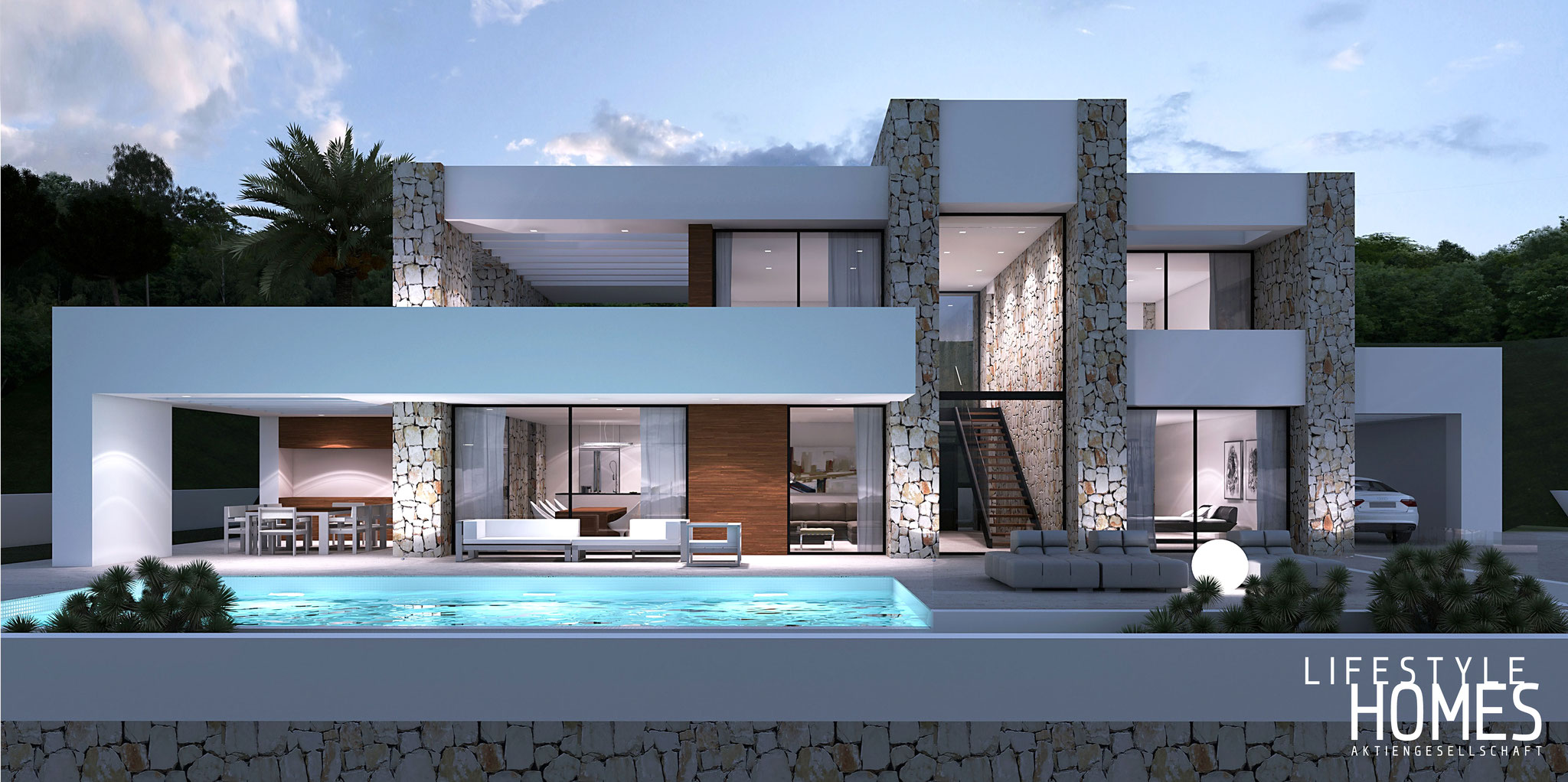 Villa Mit Pool By Lifestyle Homes AG
