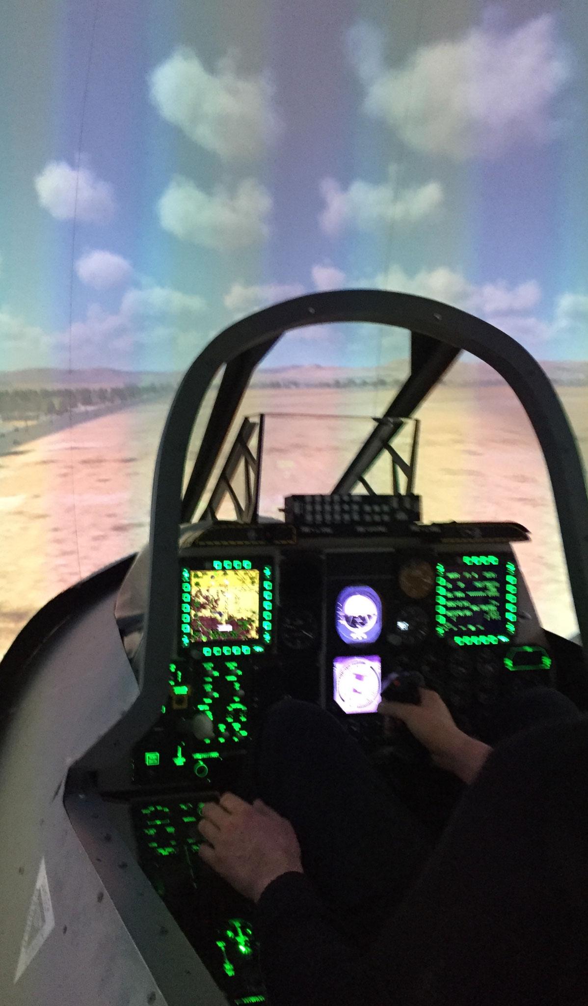 A-10 Warthog Simulator