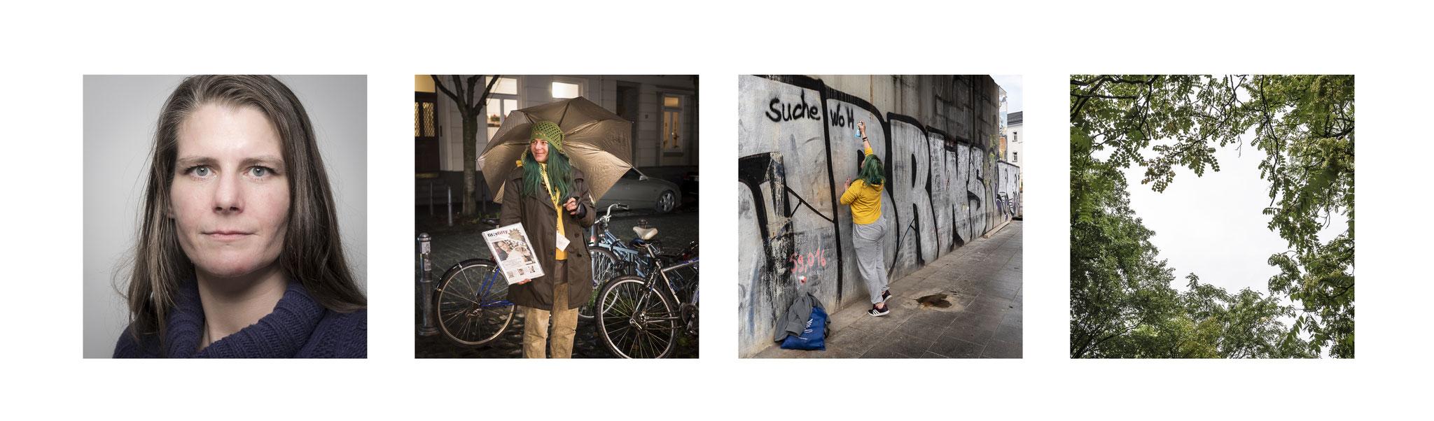 Janet, Obdachlose