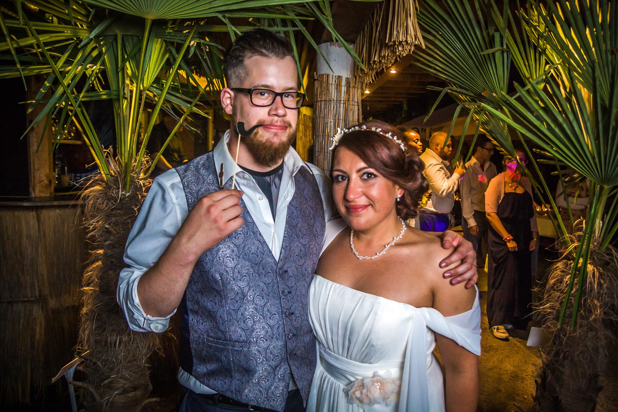 Das Brautpaar: Manuel & Sarah