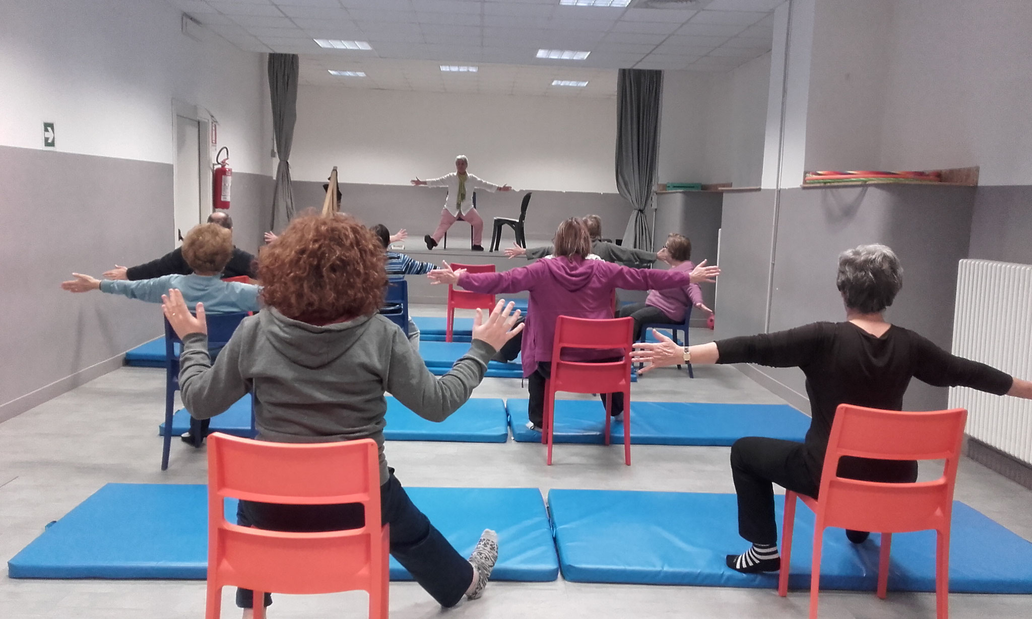 Chair Yoga o Yoga Sédia