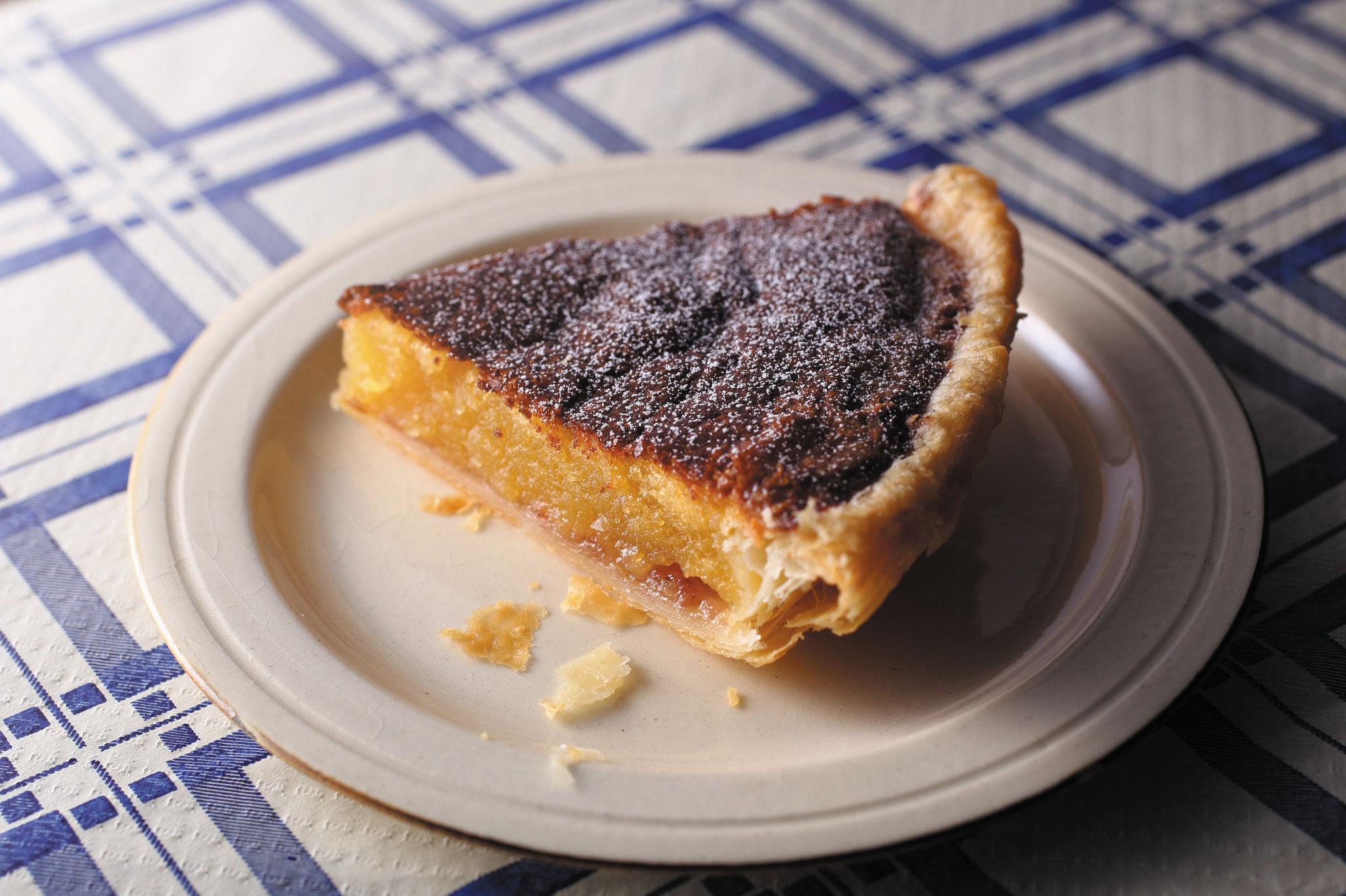 イギリス・ベイクウェルの郷土菓子「ベイクウェルタルト」