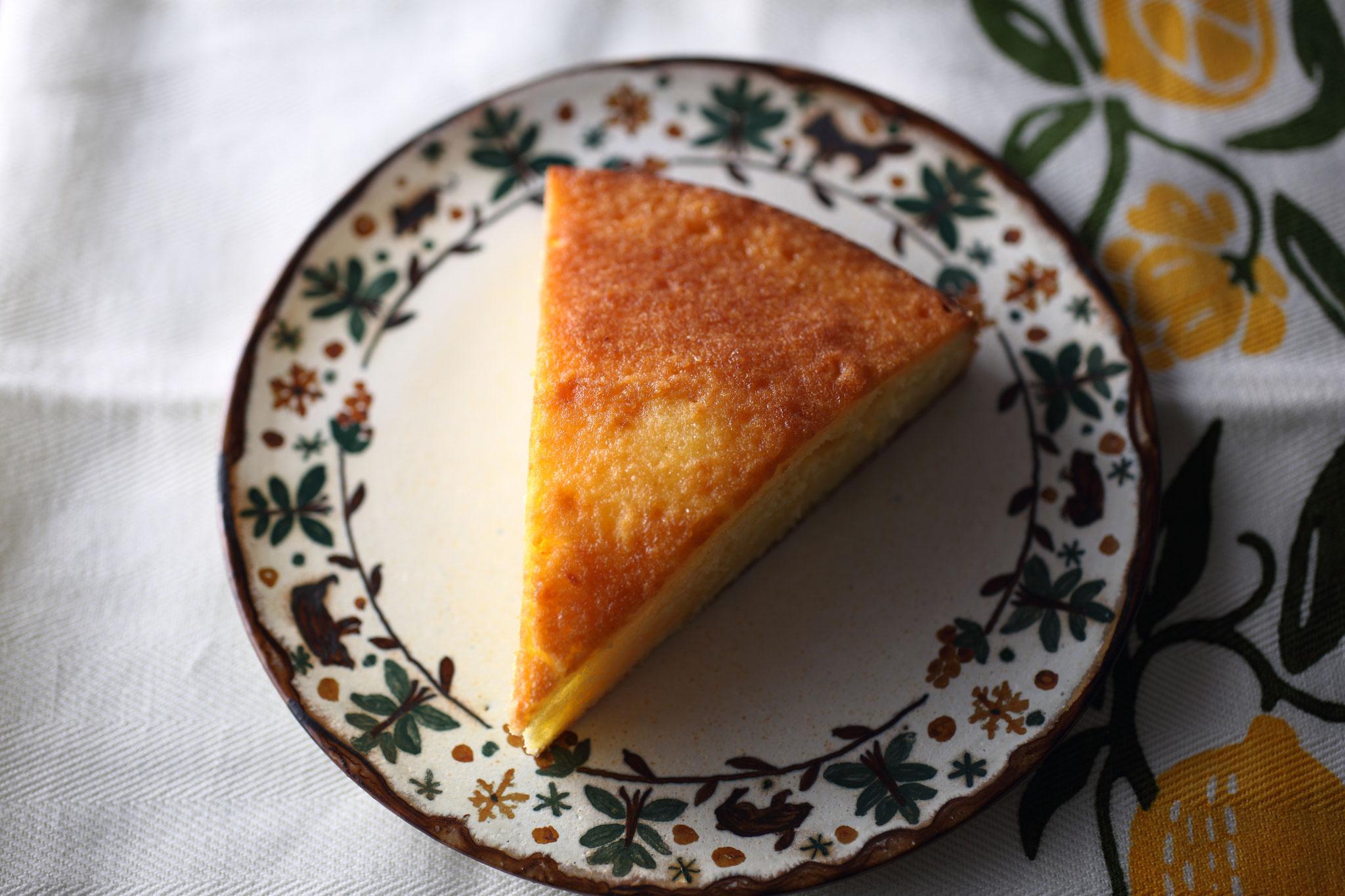 イギリスの郷土菓子「レモンドリズル」