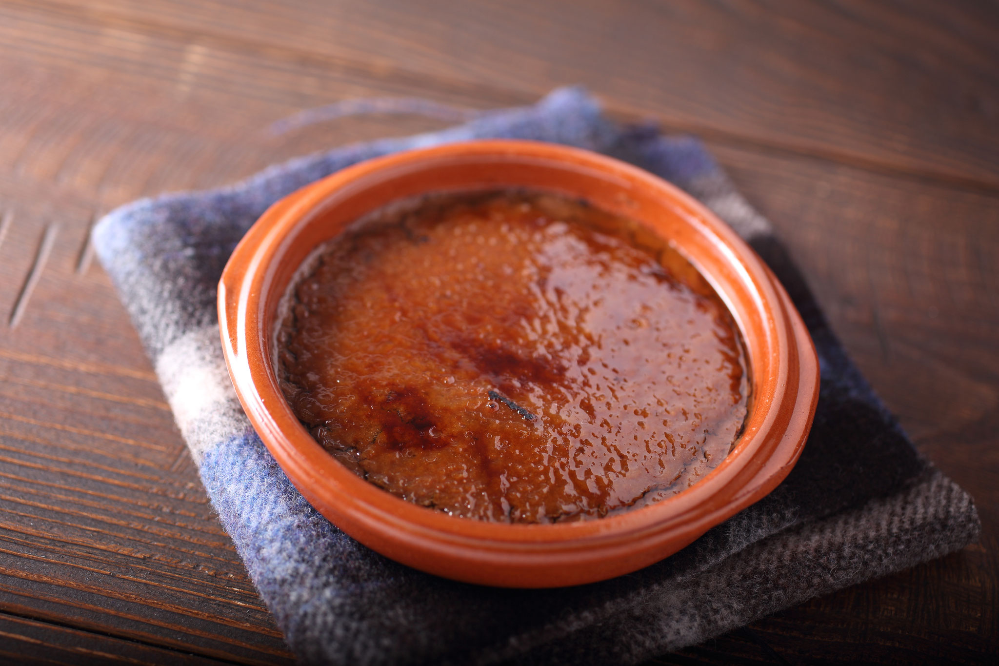 スペインの郷土菓子「クレマカタラーナ」