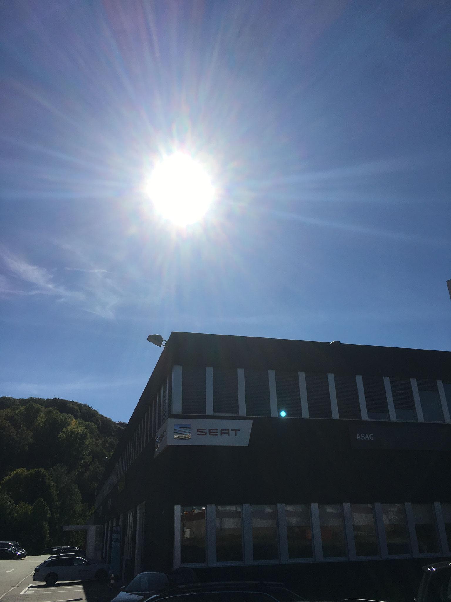 ASAG-Pratteln, neuer Fassadenanstrich.