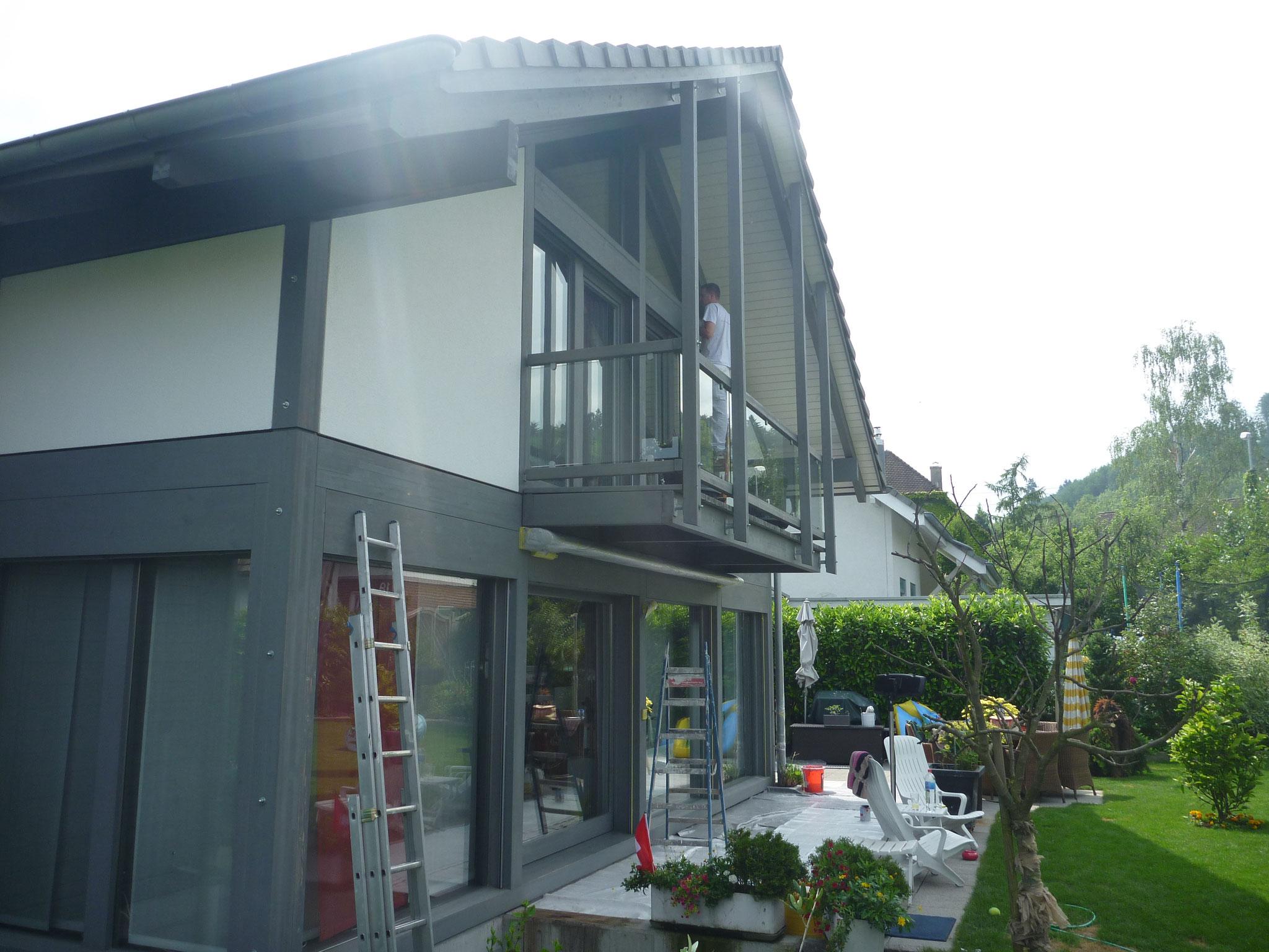 Einfamilienhaus in Rheinfelden.
