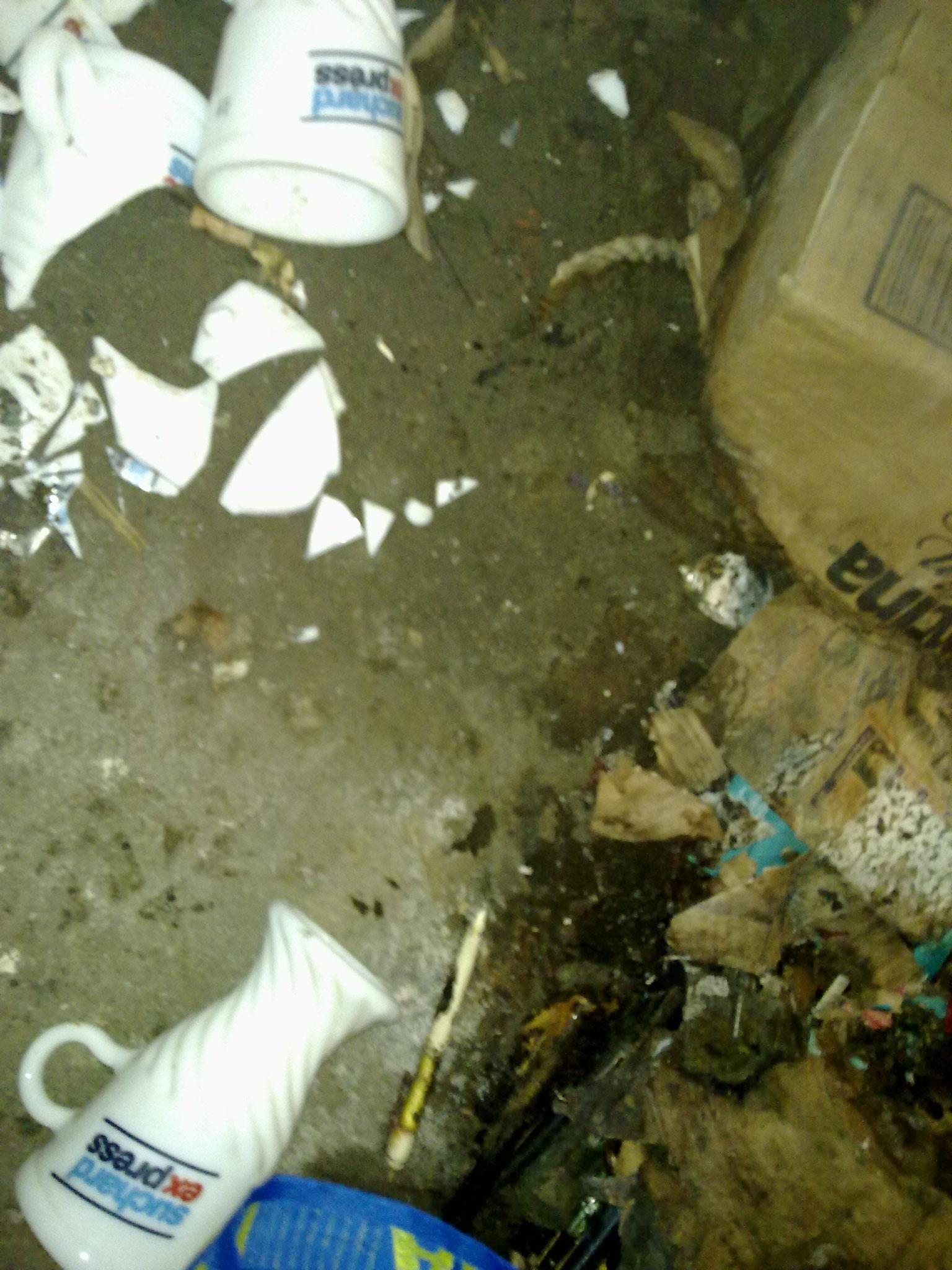 Kellerboden sei bereit und bauseits gereinigt zum streichen.