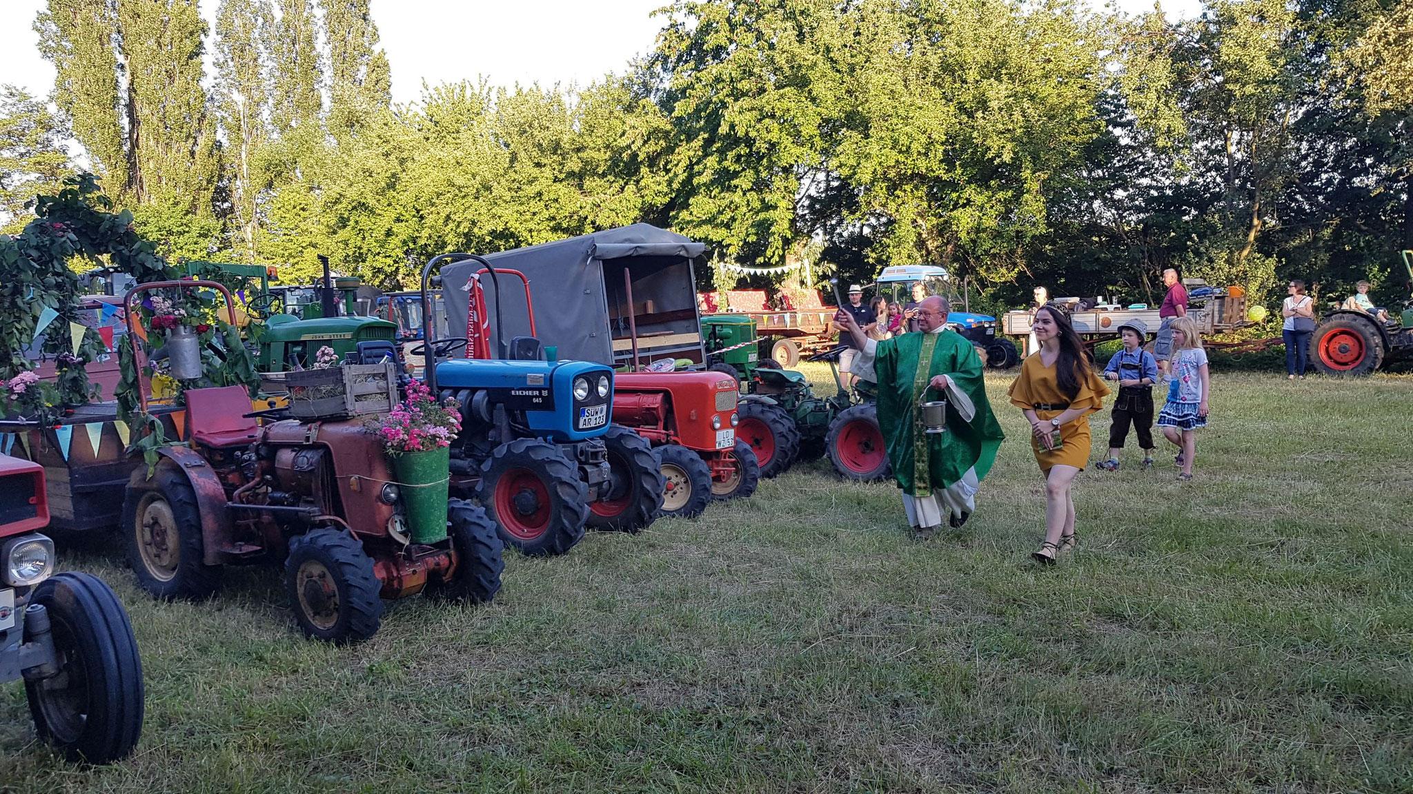 Traktorgottesdienst 2019