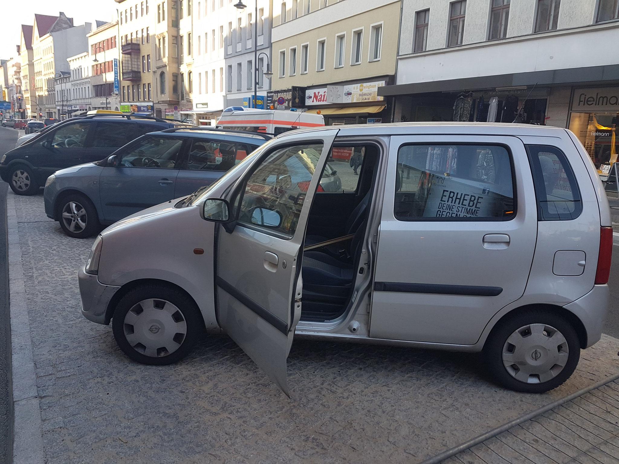 Autotür Öffnungen