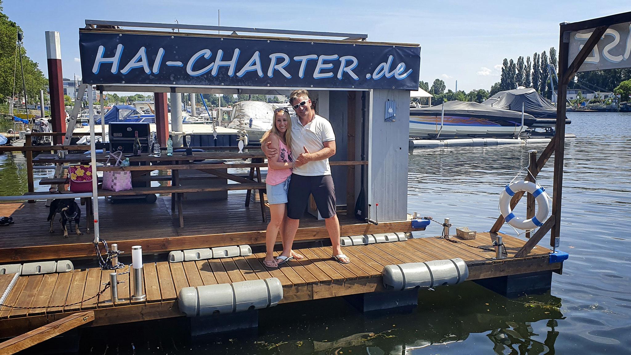 Torsten und Janina von HAI-CHARTER