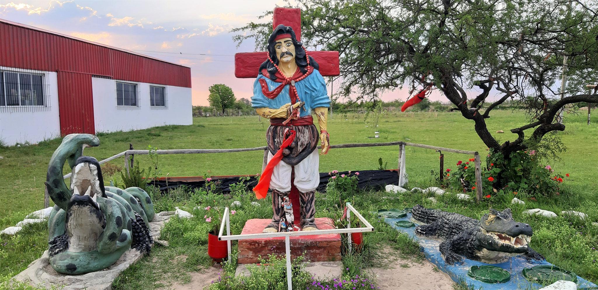 Gaucho Gil, der argentinische Robin Hood. Er wird von den Argentiniern als Nationalheld verehrt.