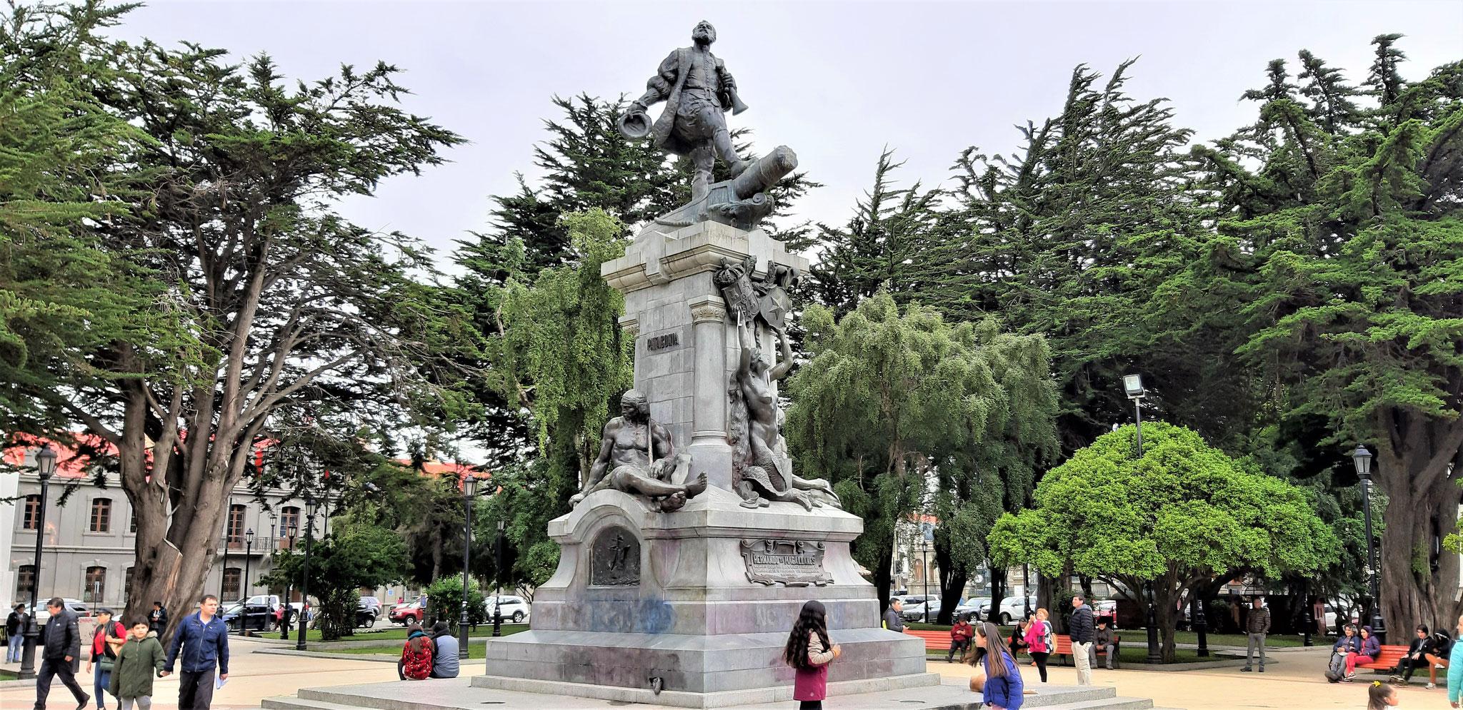Denkmal Magellan