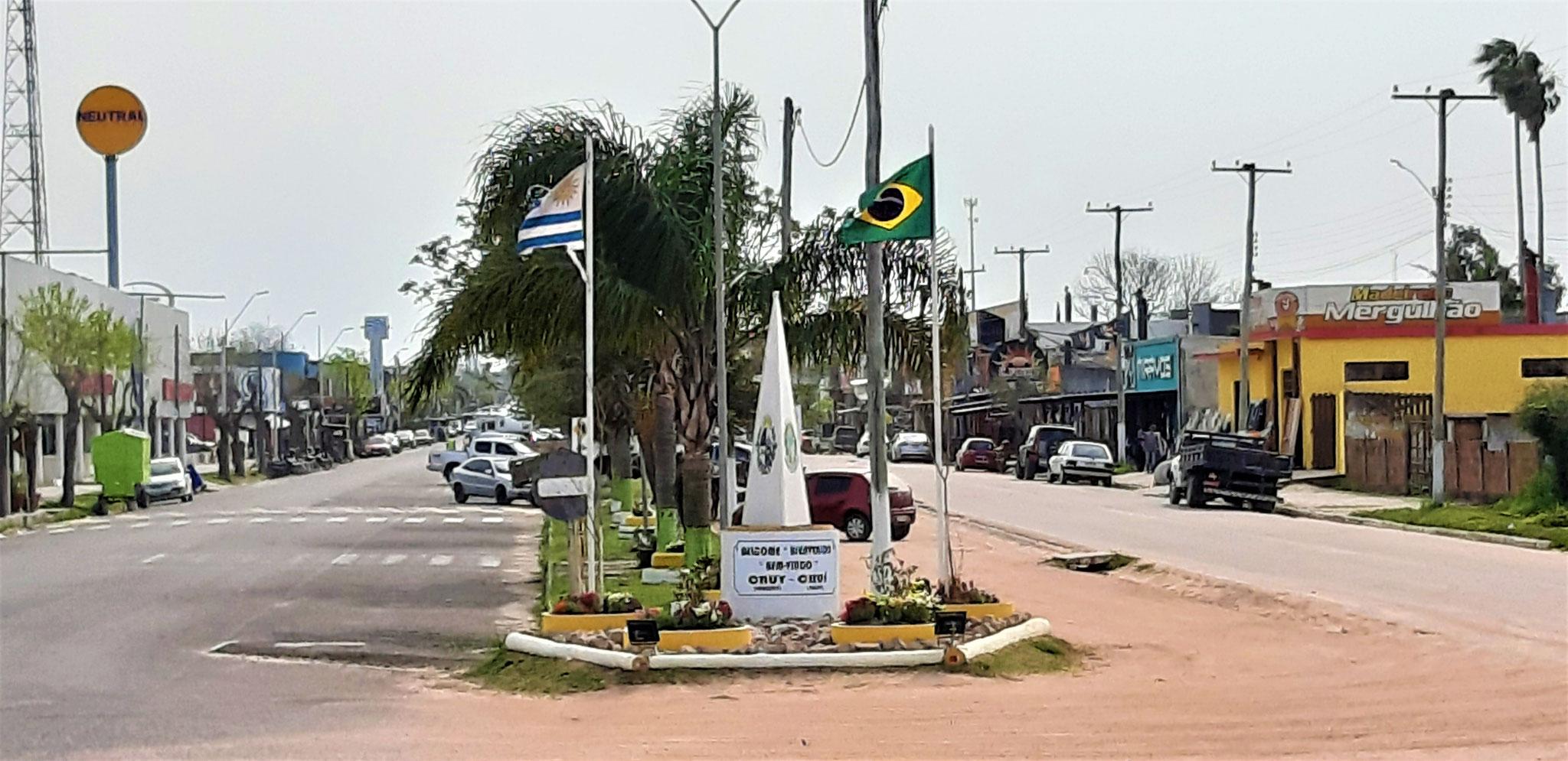 links Uruguay, rechts Brasilien