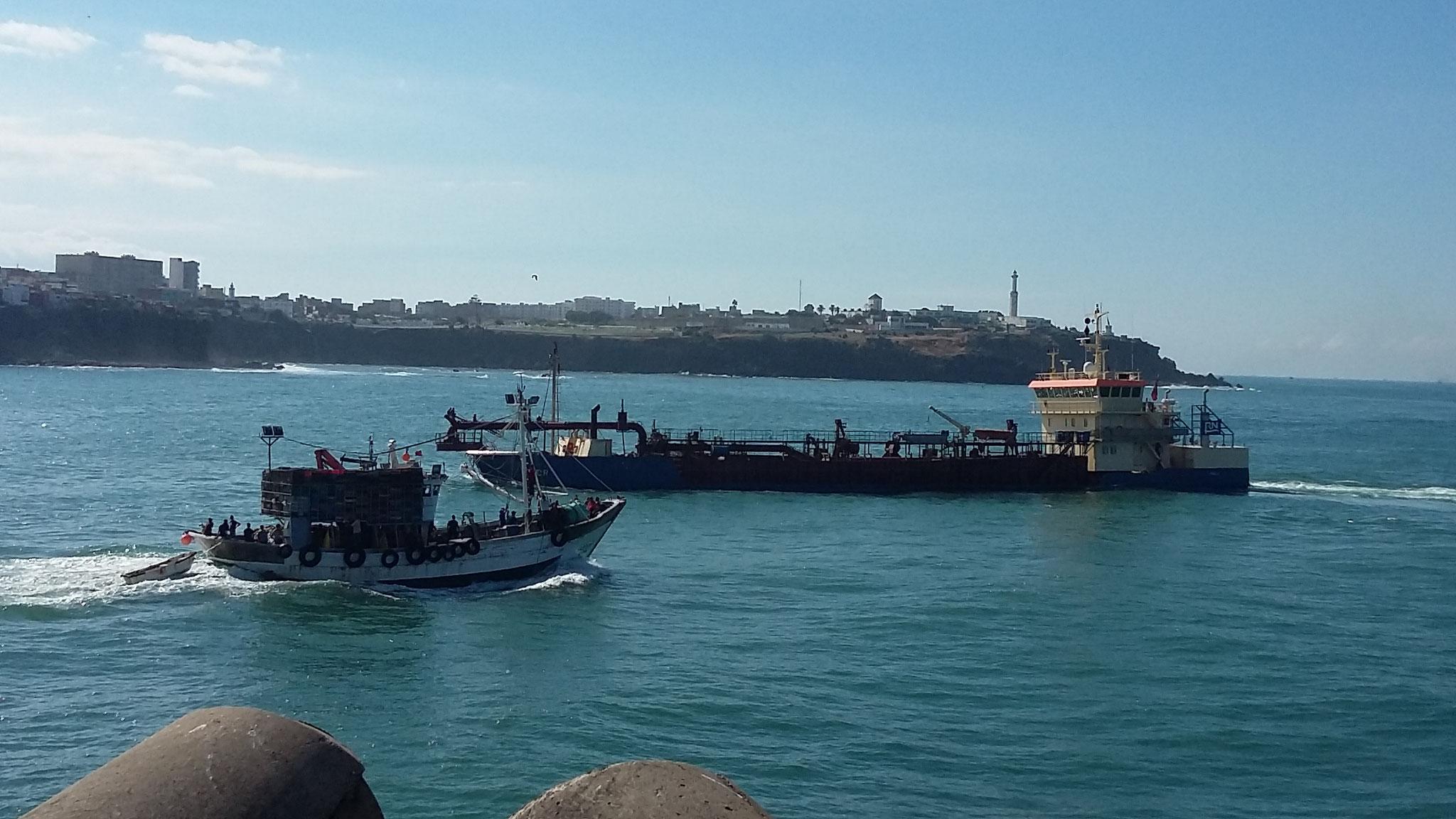 Hafeneinfahrt Larache