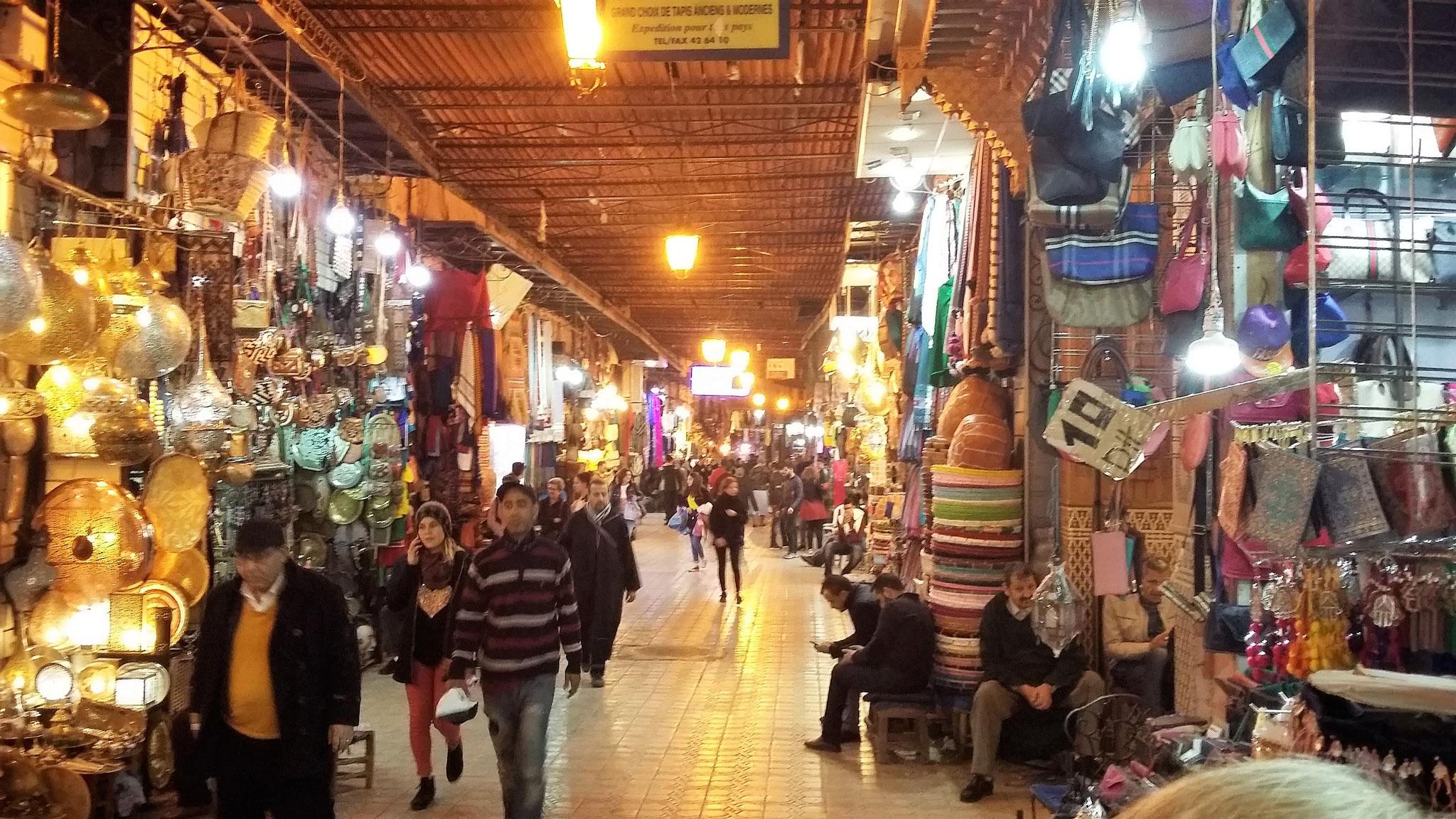 Souk in der Medina