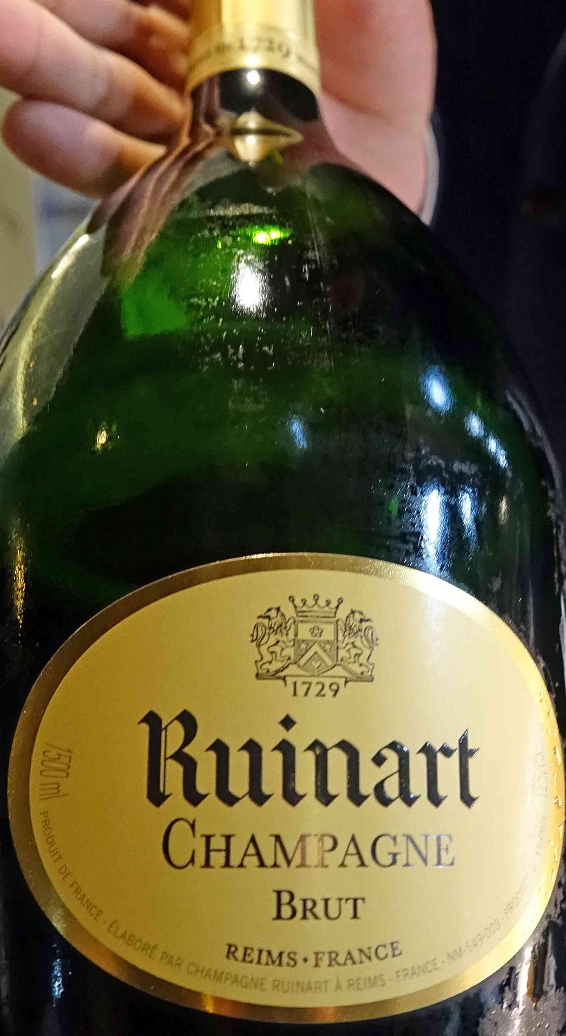 Le Champagne d'apéritif (offert)