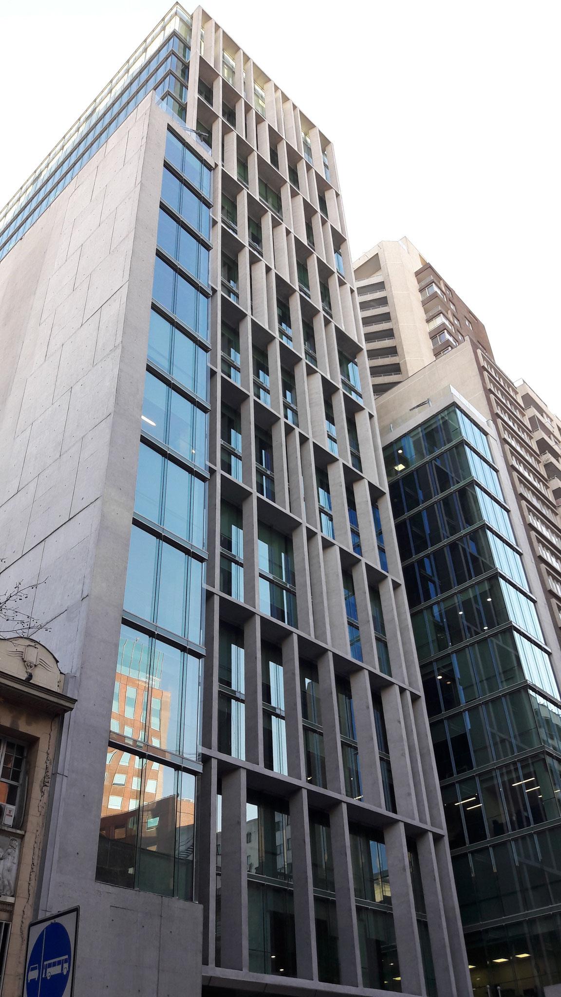 STOPRAY Vision 50, Edificio Amunátegui, Santiago, Chile