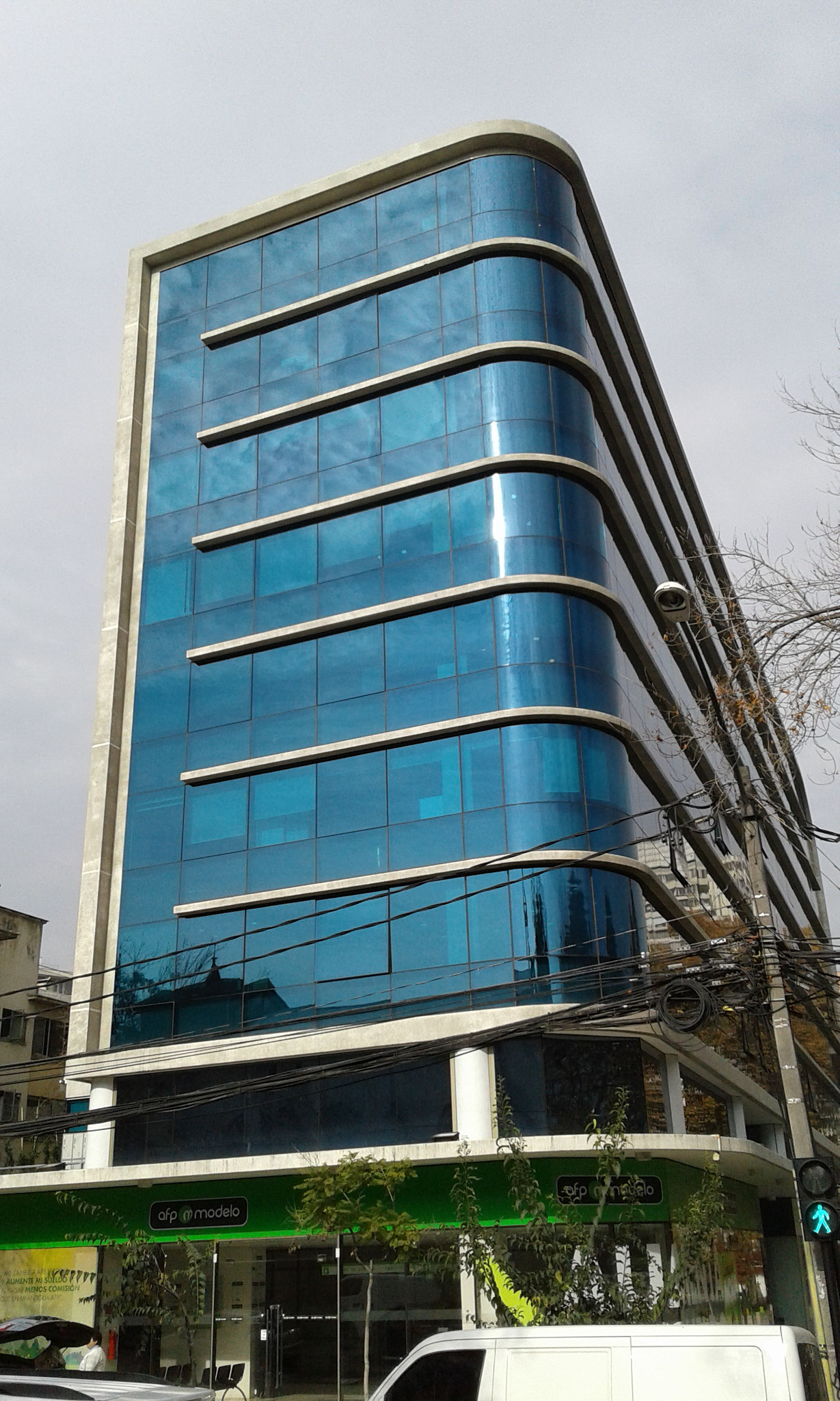 STOPSOL Silverlight Privablue pos. 2, Costanera Office, Santiago, Chile
