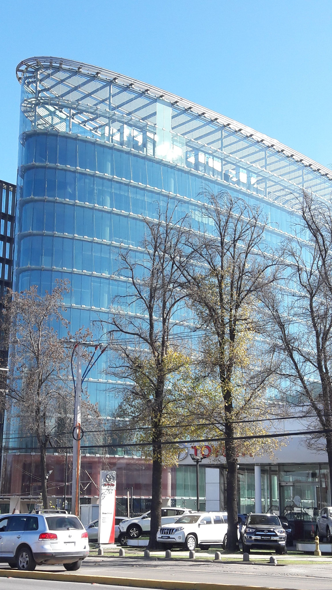 STOPRAY 60 & 60T, Edificio Corporativo Indumotora, Santiago, Chile