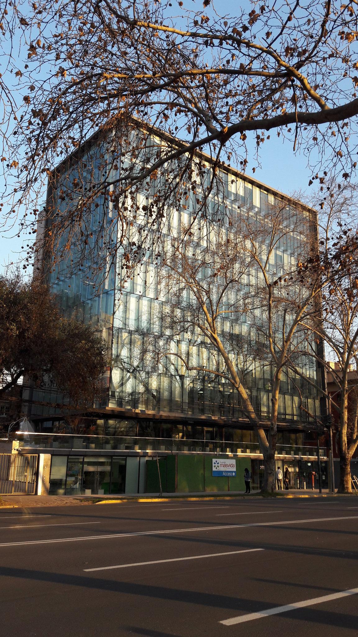 STOPRAY Safir (descontinuado), Edificio Ombú, Santiago, Chile