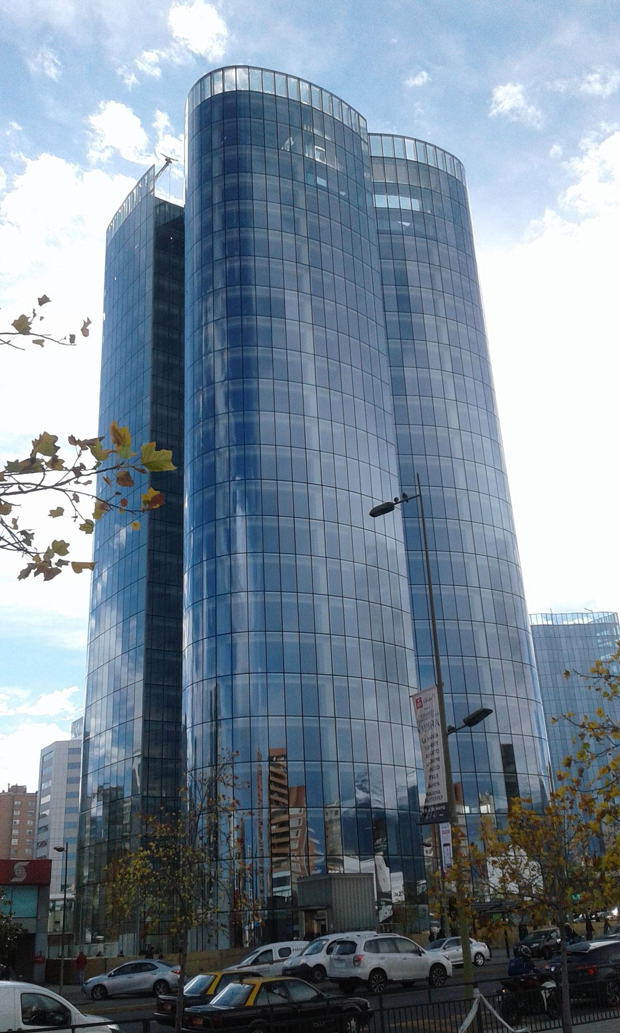 STOPRAY Vision 50, Edificio Nueva Manquehue, Santiago, Chile