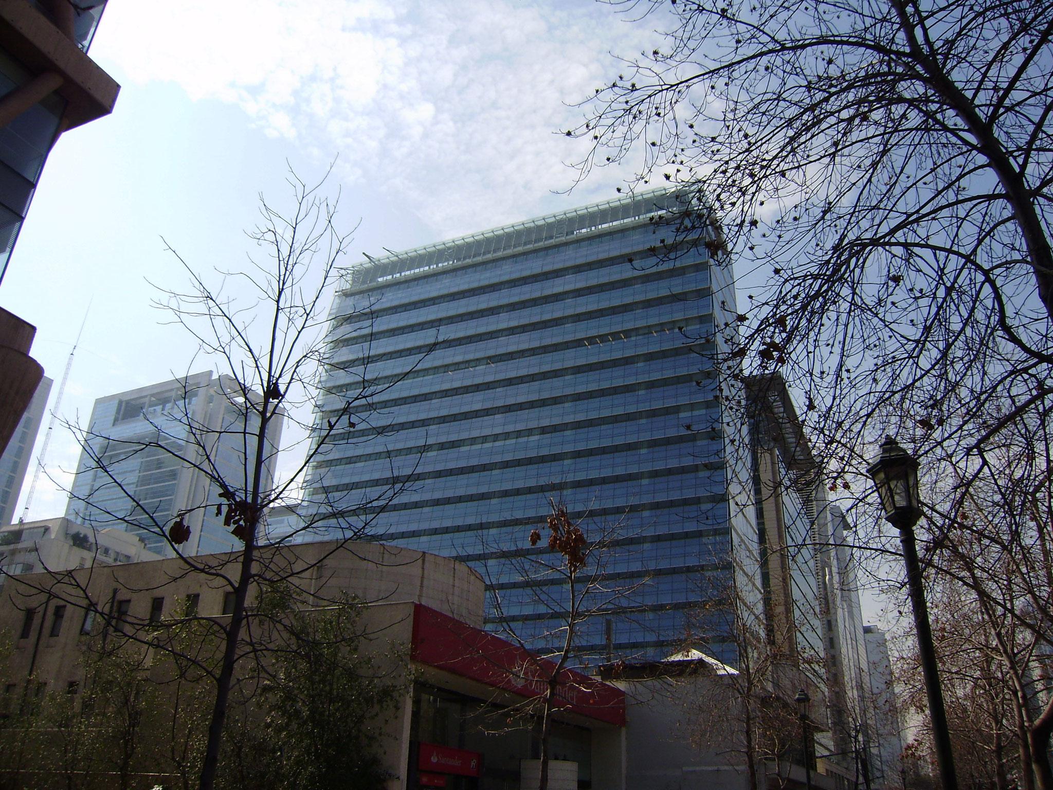 STOPRAY Vision 50 & 60T, Edificio Patio Foster, Santiago, Chile