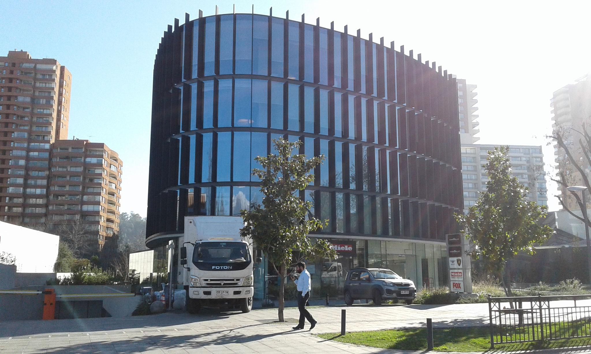 STOPRAY Vision 50 & 50T, Edificio Goycolea, Santiago, Chile