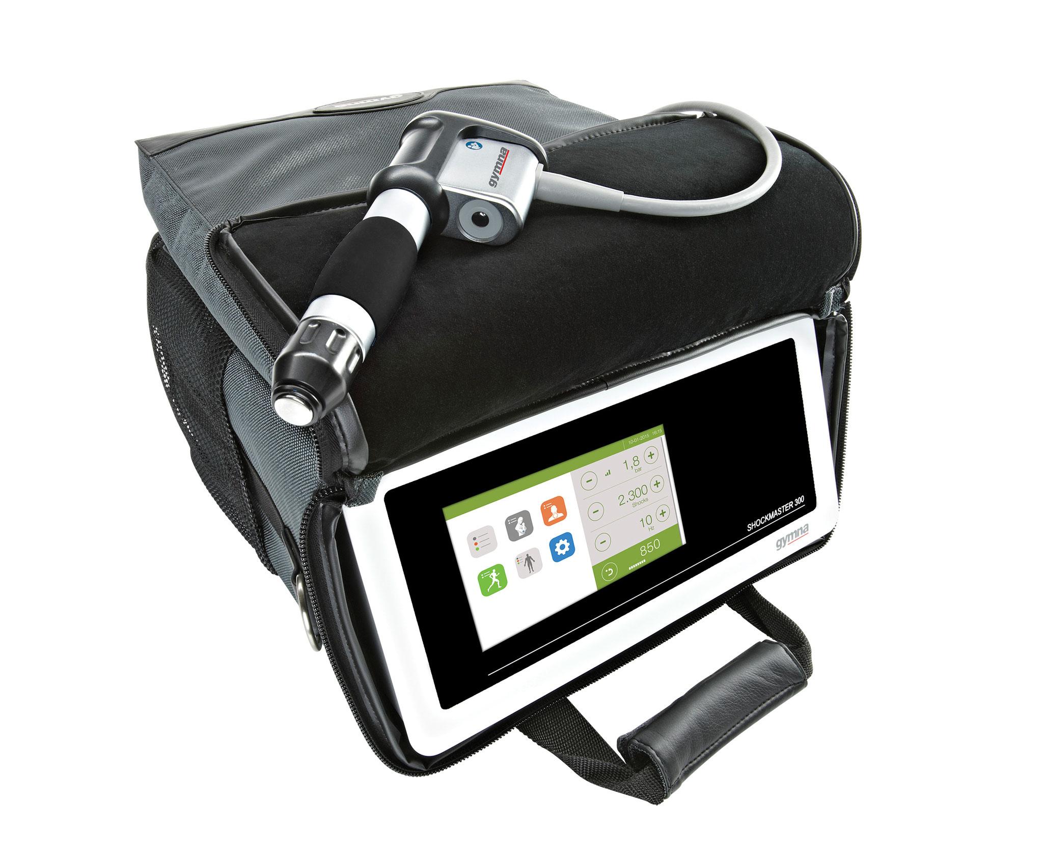 Dank der praktischen Transporttasche immer einsatzbereit