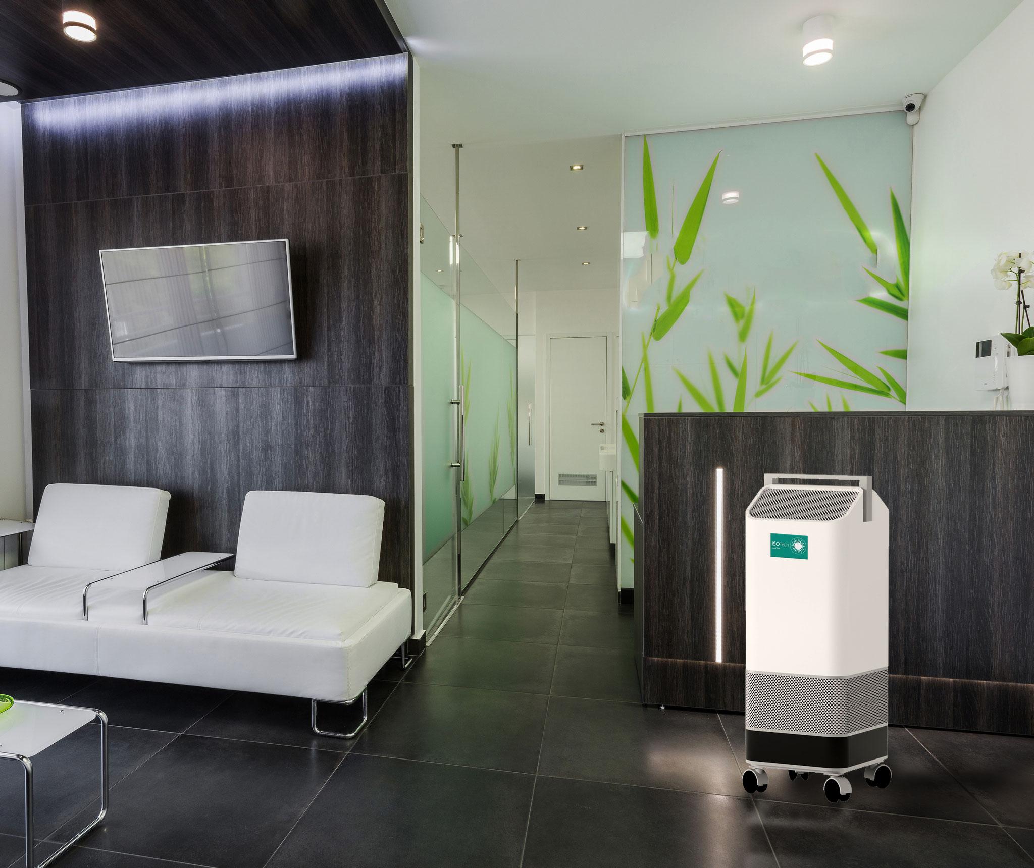 Neu: ISO-Tech Cleaning Air - UVC Luftreiniger & Desinfektionssysteme