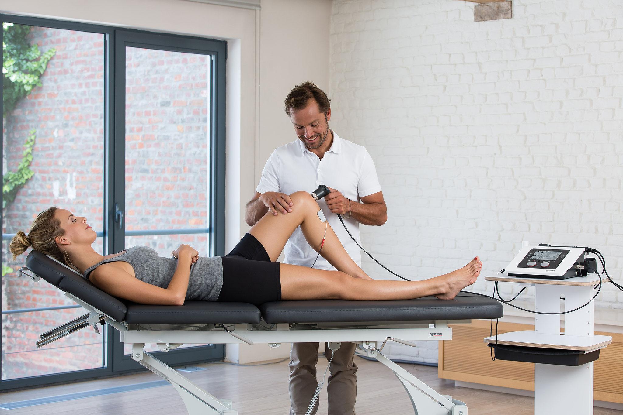 Elektro- und Ultraschalltherapiegeräte von Gymna