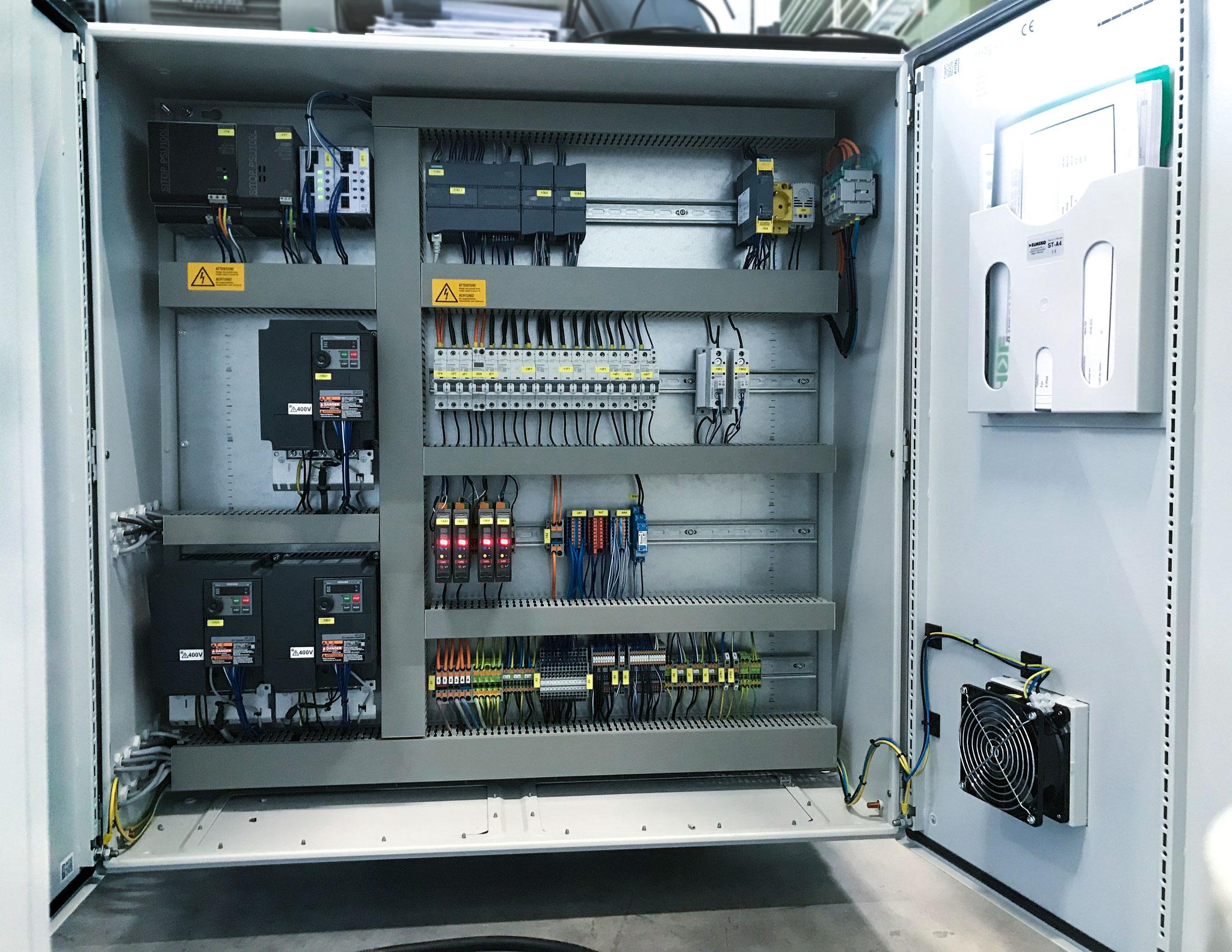 Das Prinzip des System lässt sich in jegliche Prozesse integrieren, bei denen Materialien auf eine Rolle gewickelt werden.
