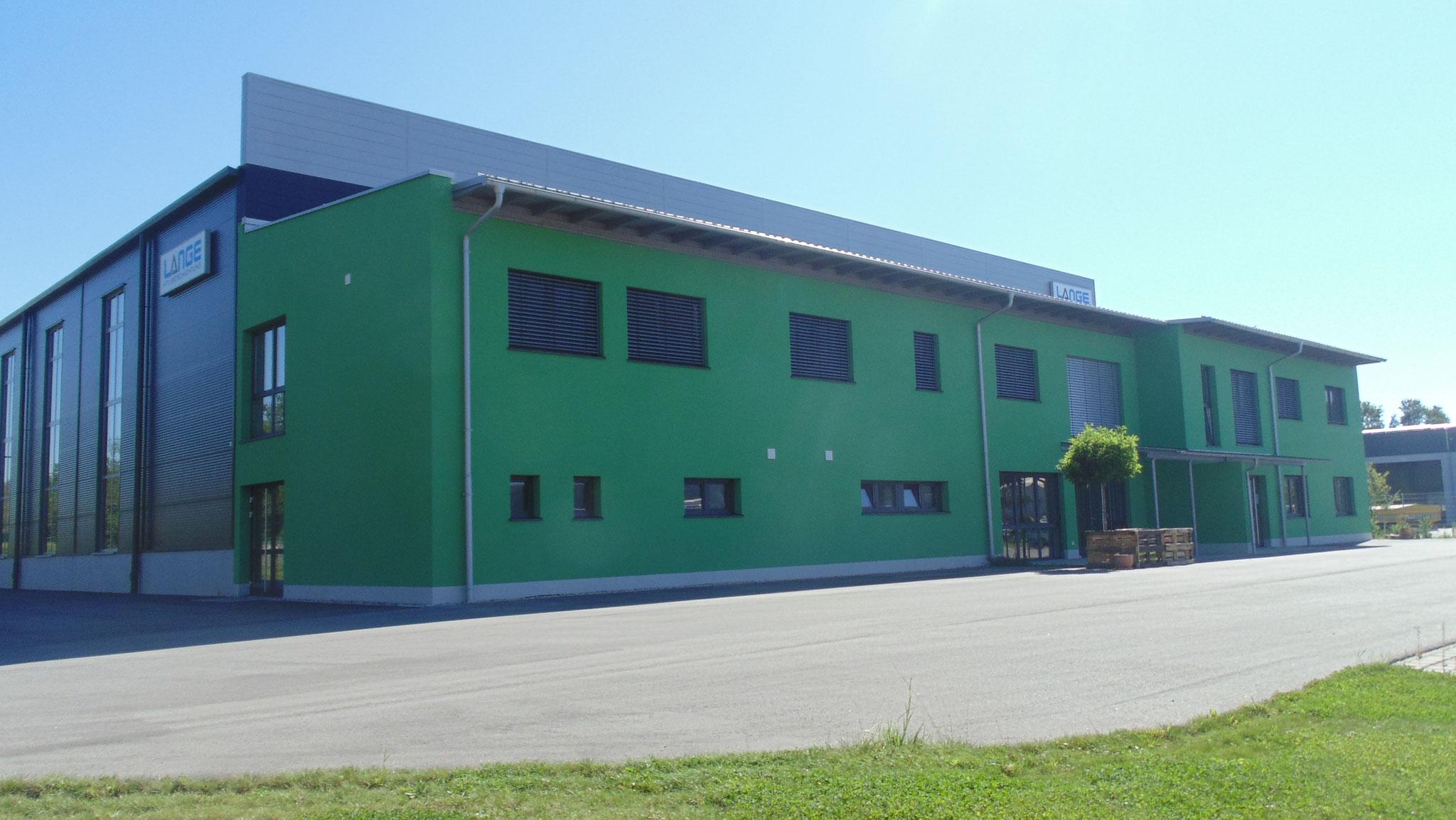 Neubau Betriebsgebäude Firma Lange GmbH, Essenbach 2014